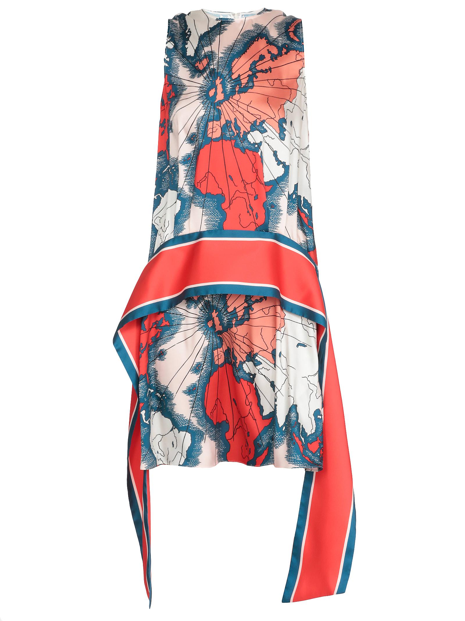 Buy Victoria Victoria Beckham Printed Dress online, shop Victoria Victoria Beckham with free shipping
