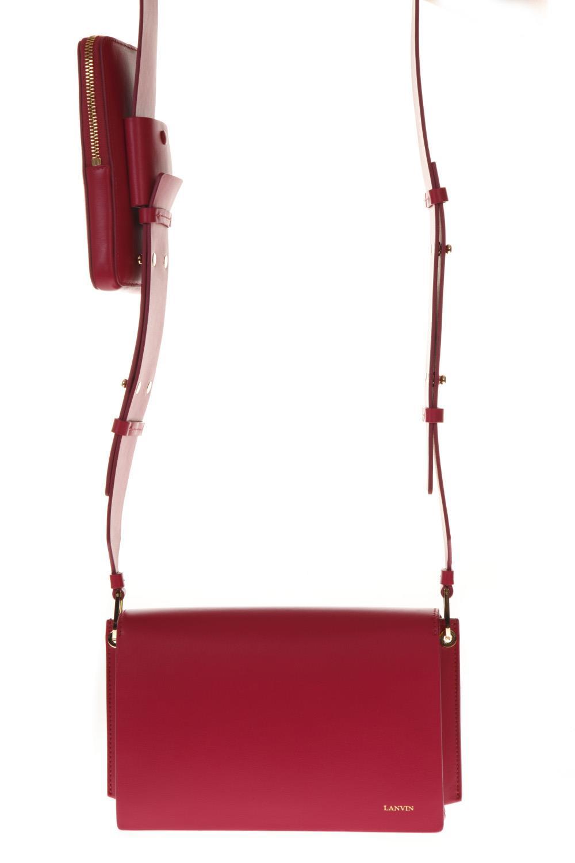e4abda43ea8 Lanvin Lanvin Pixel-it Fuchsia Leather Bag - Fuchsia - 10728421 ...