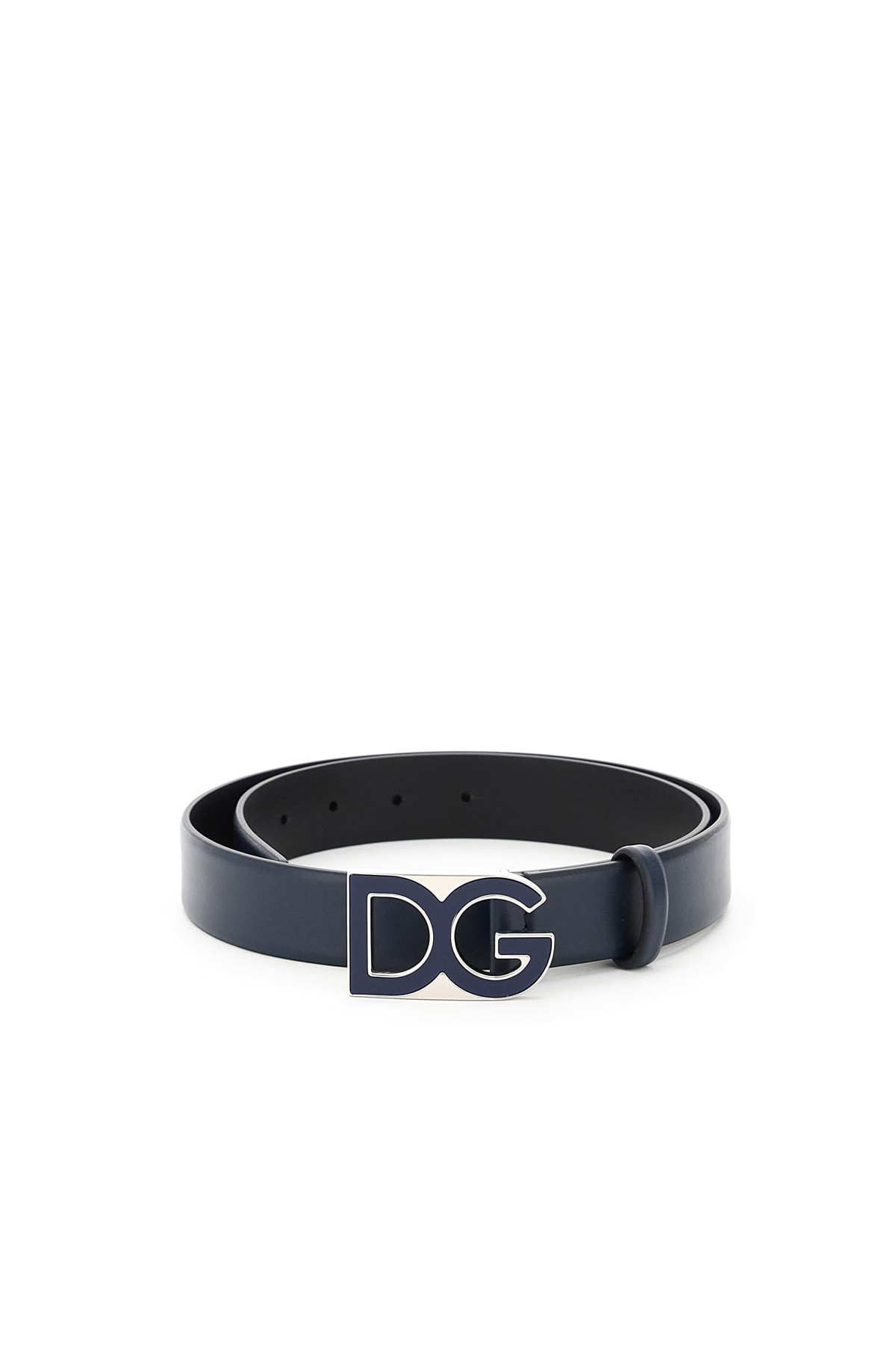 Dolce & Gabbana Belts DG LEATHER BELT