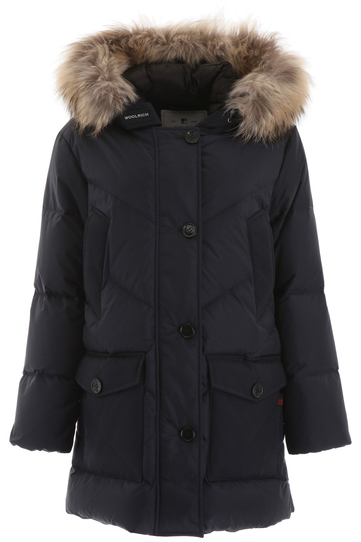 Photo of  Woolrich Parka With Fur- shop Woolrich jackets online sales