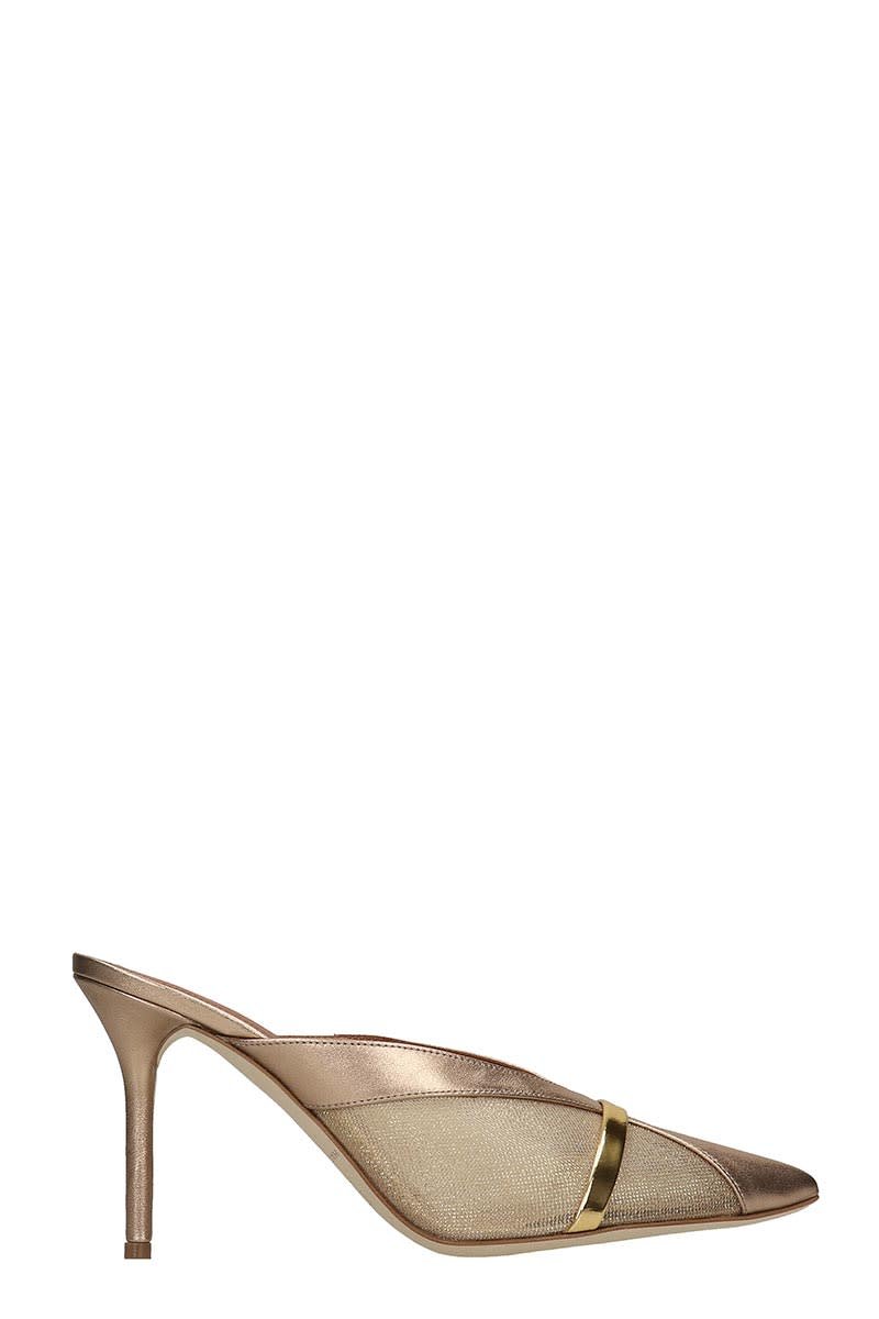 Malone Souliers Bobbi Sandals In Gold Leather