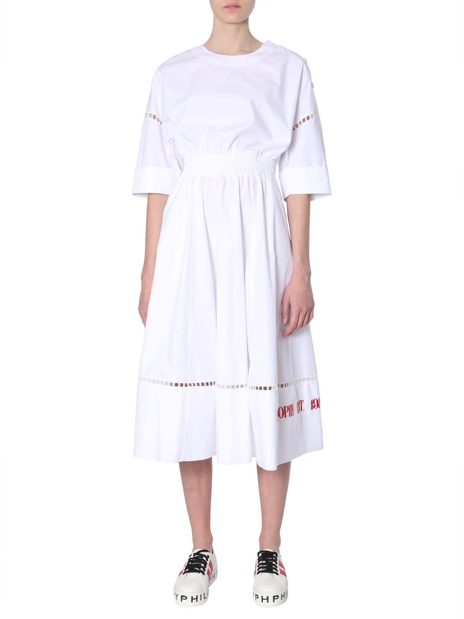 Buy Philosophy di Lorenzo Serafini Midi Dress online, shop Philosophy di Lorenzo Serafini with free shipping