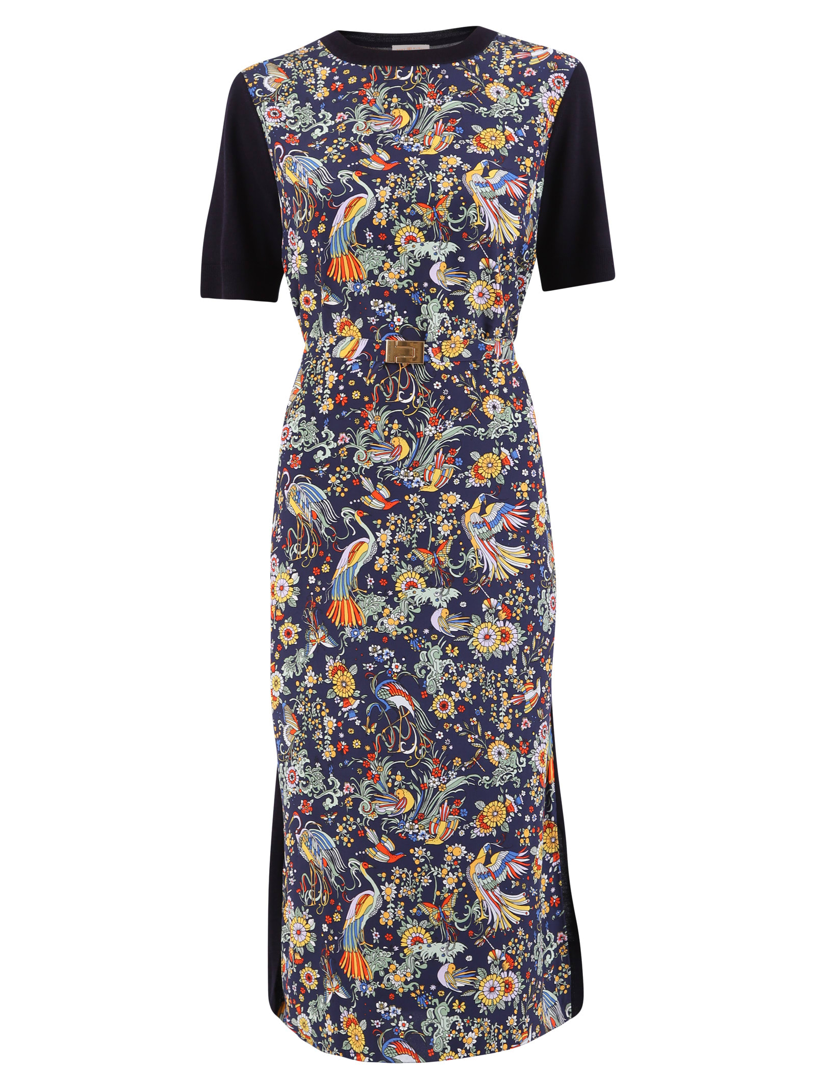 Buy Tory Burch Floral Print Dress online, shop Tory Burch with free shipping