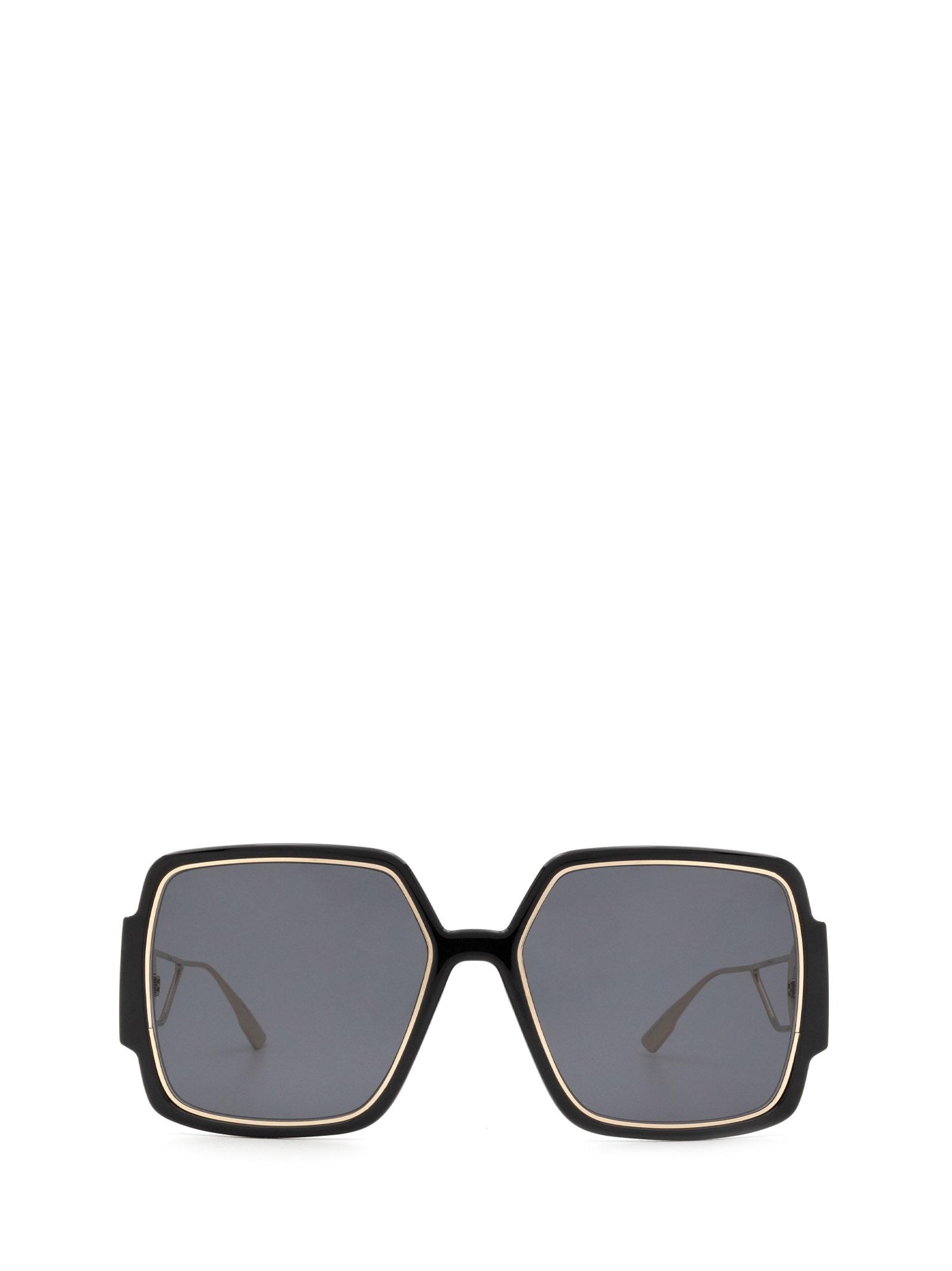 Dior Sunglasses 30MONTAIGNE2 BLACK GOLD SUNGLASSES
