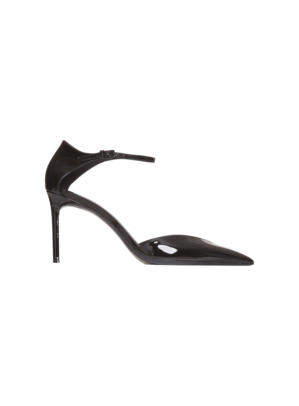 Saint Laurent Anja Dorsay Pumps In Patent Leather