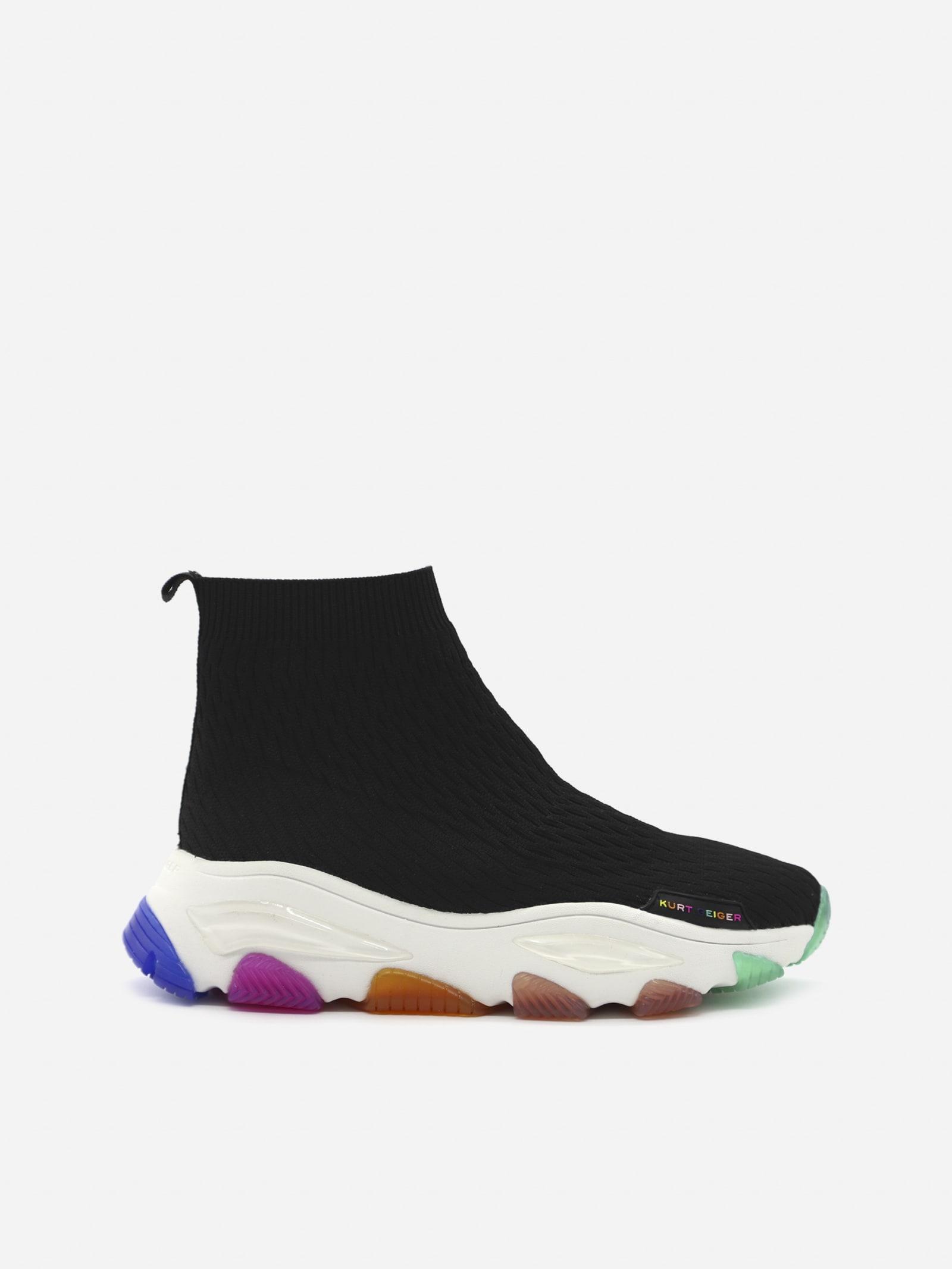 Fabric Lettie Sock Sneakers