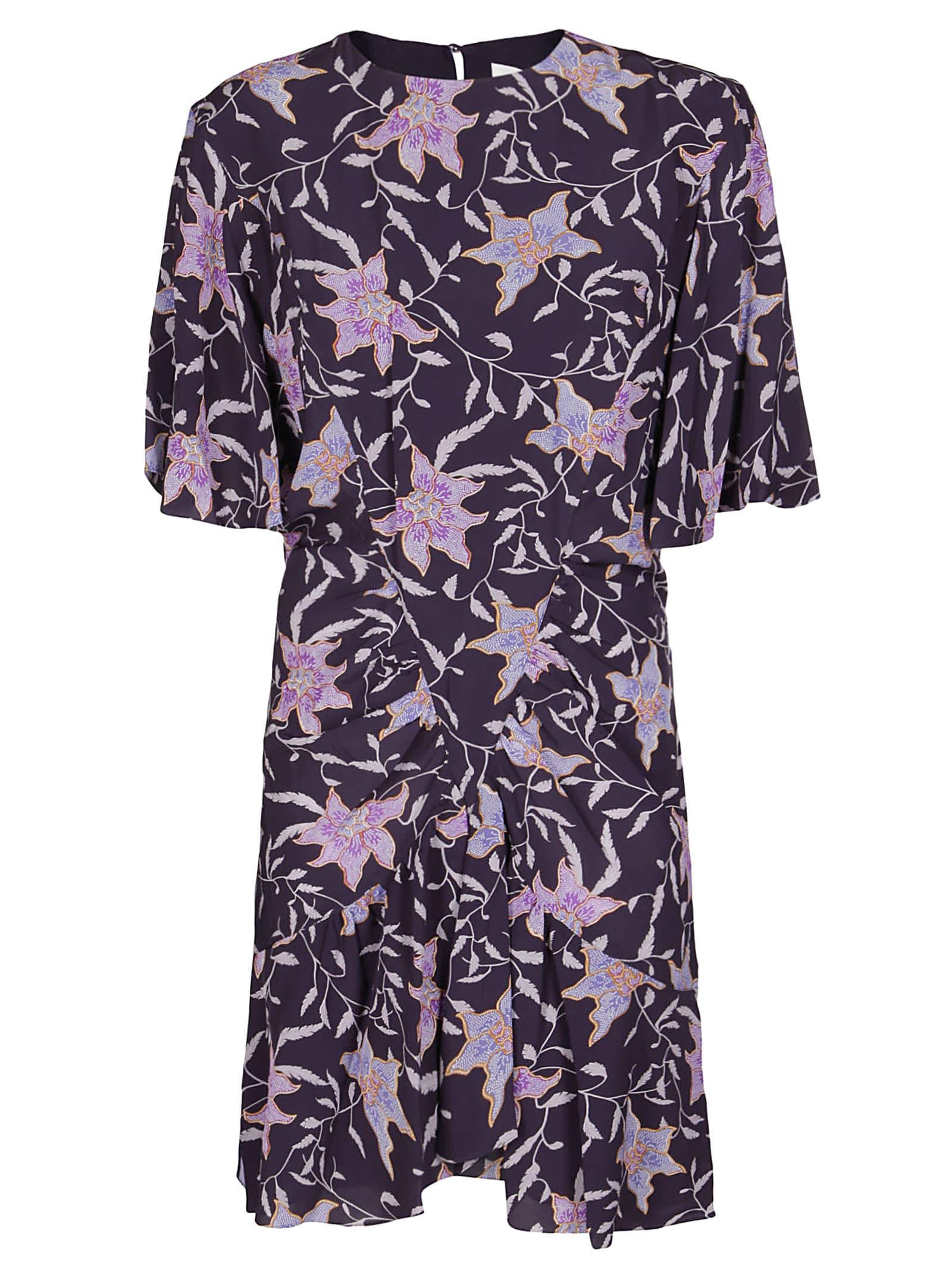 Isabel Marant Étoile Dresses PURPLE VISCOSE DRESS