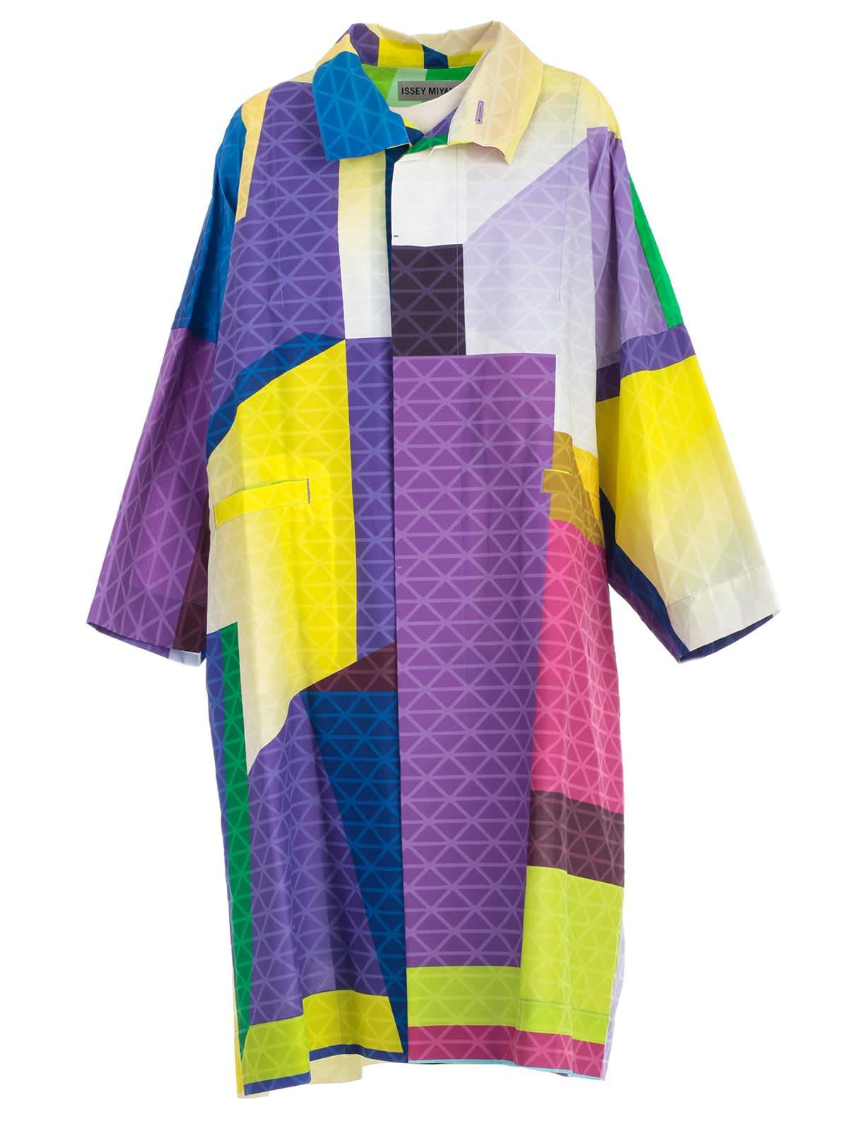 Issey Miyake Coat S/s Fantasy