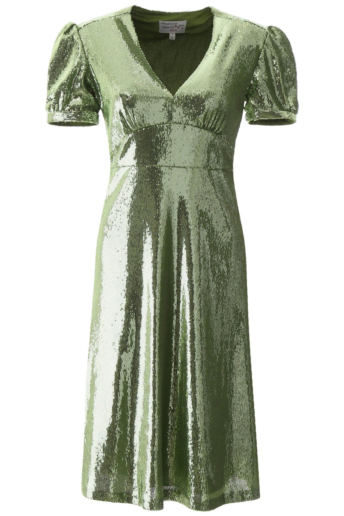 Buy HVN Sequins Paula Dress online, shop HVN with free shipping