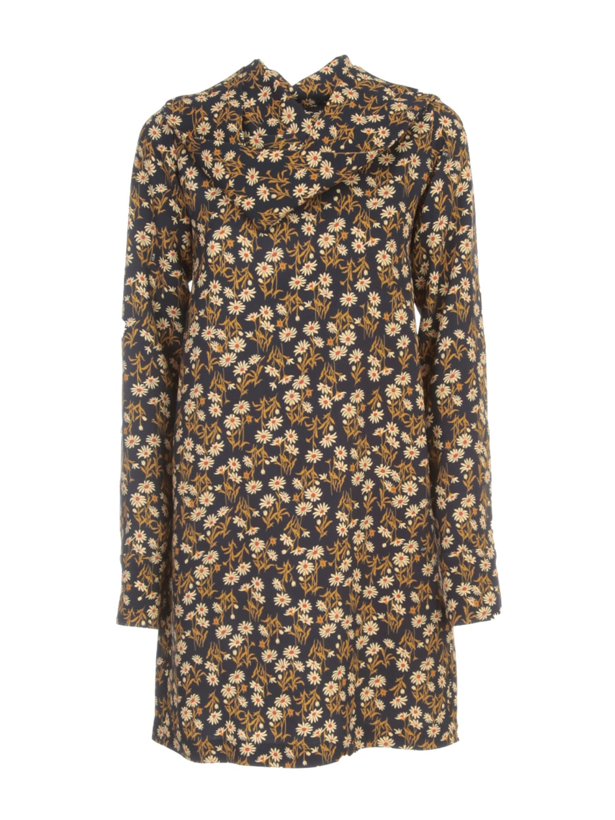 N°21 PRINTED SHORT DRESS