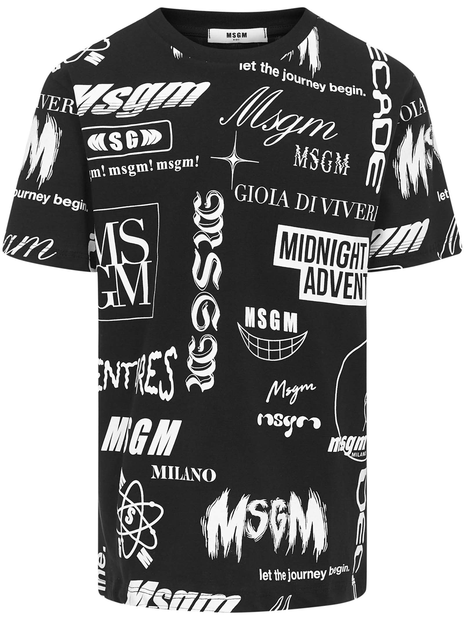 Msgm Cottons MSGM KIDS T-SHIRT