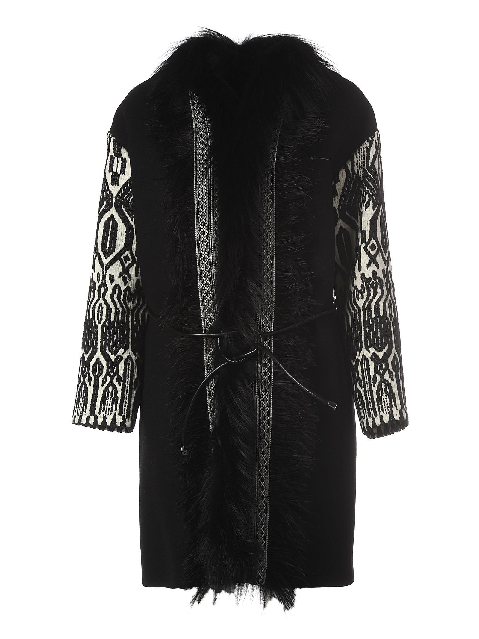 Seventy Wool Black Coat