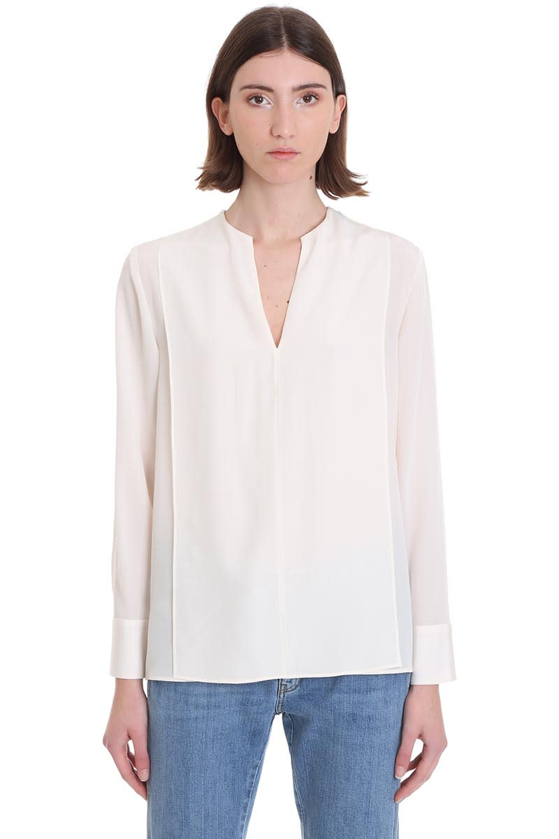 Stella McCartney Emmalee Blouse In Powder Silk