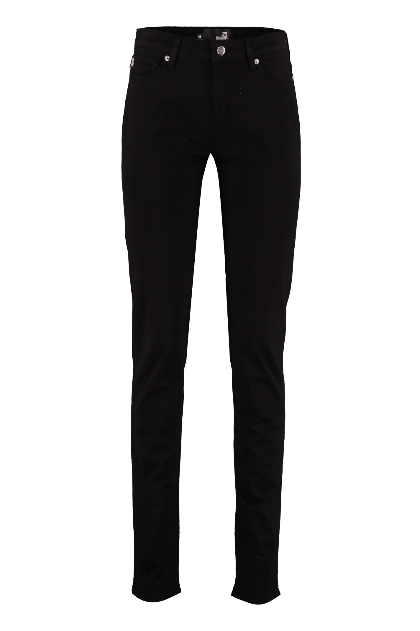 Love Moschino Stretch Cotton Trousers