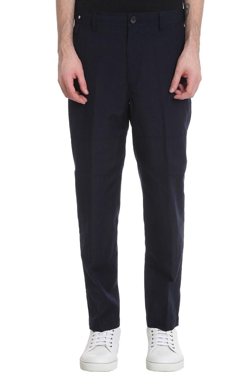 Lanvin Pants In Blue Wool