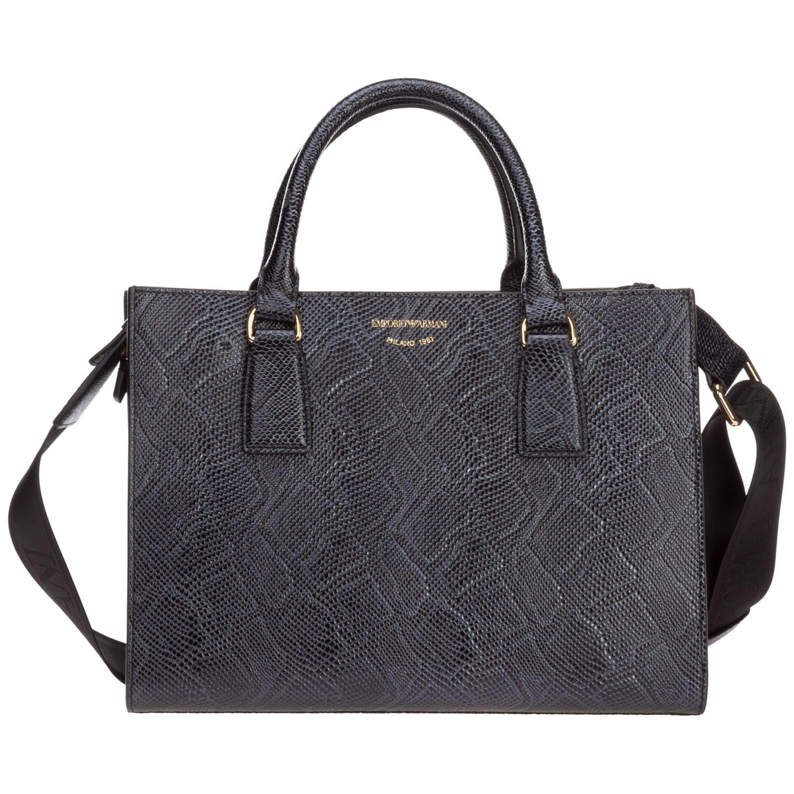 Emporio Armani Rebel Hearts Handbags
