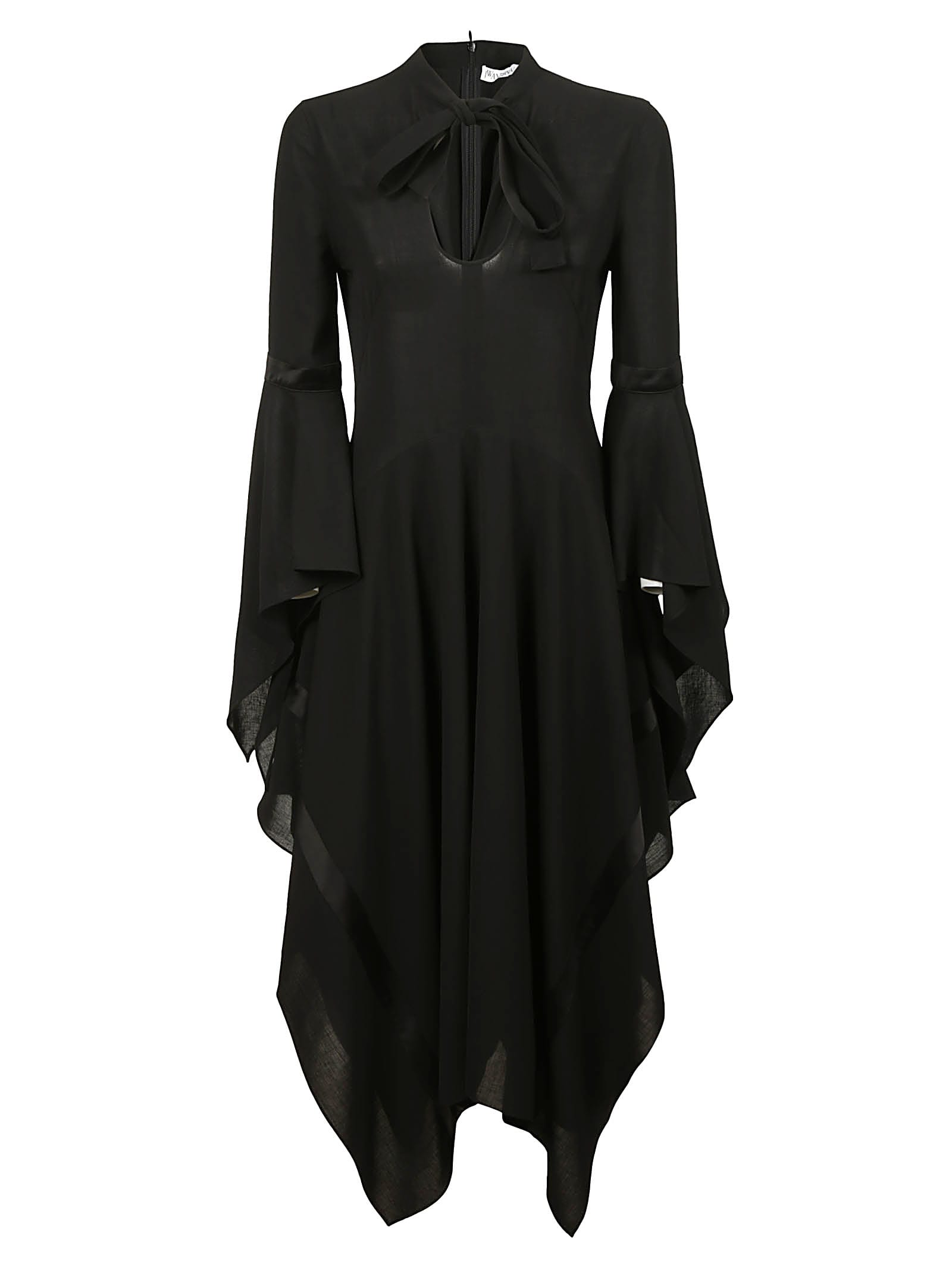 Buy J.W. Anderson Fluted Sleeve Dress online, shop J.W. Anderson with free shipping