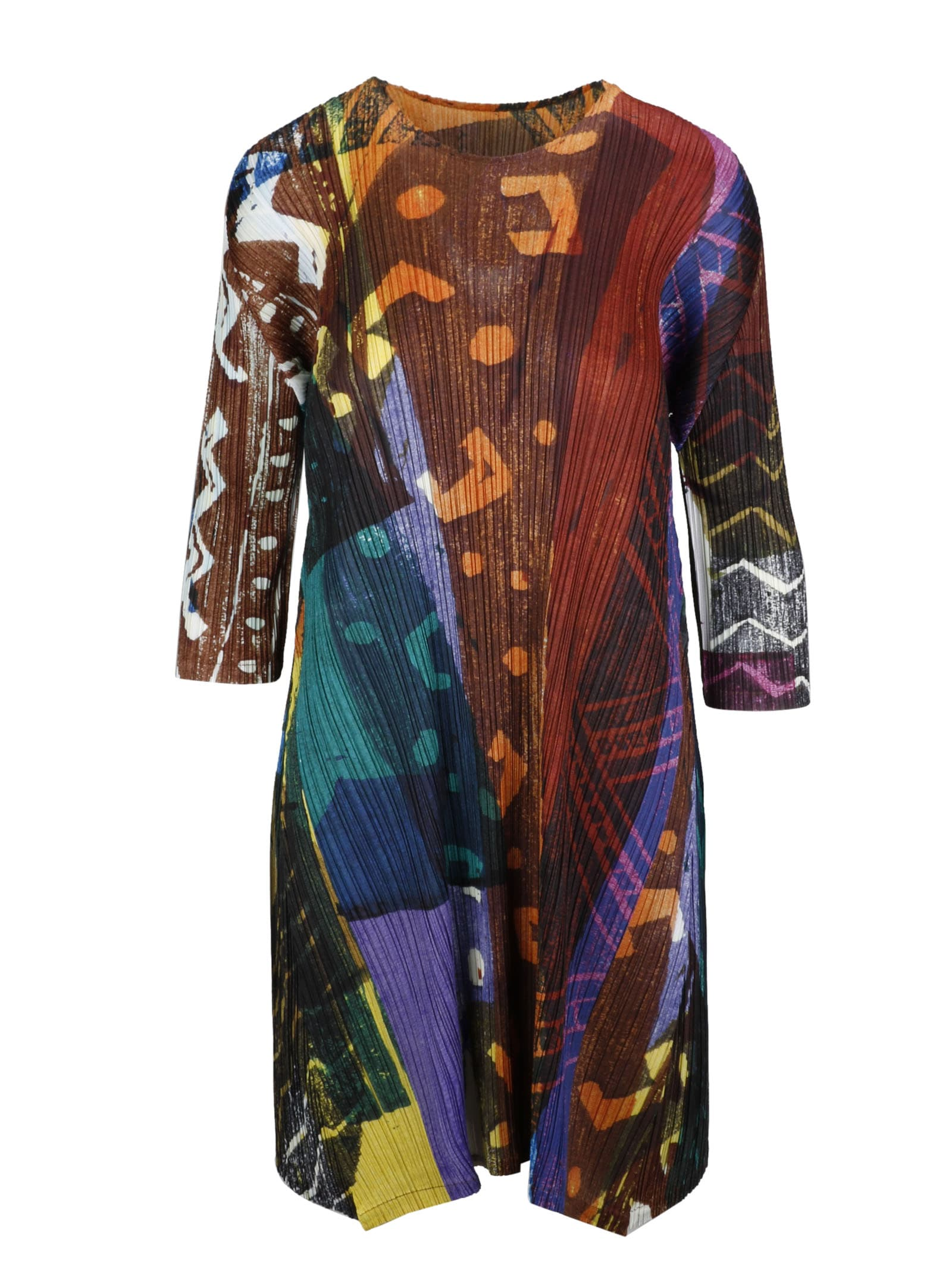 Pleats Please Issey Miyake Dress