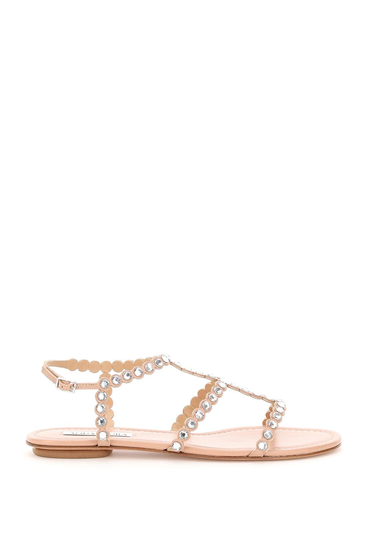 Aquazzura Shoes TEQUILA FLAT SANDALS