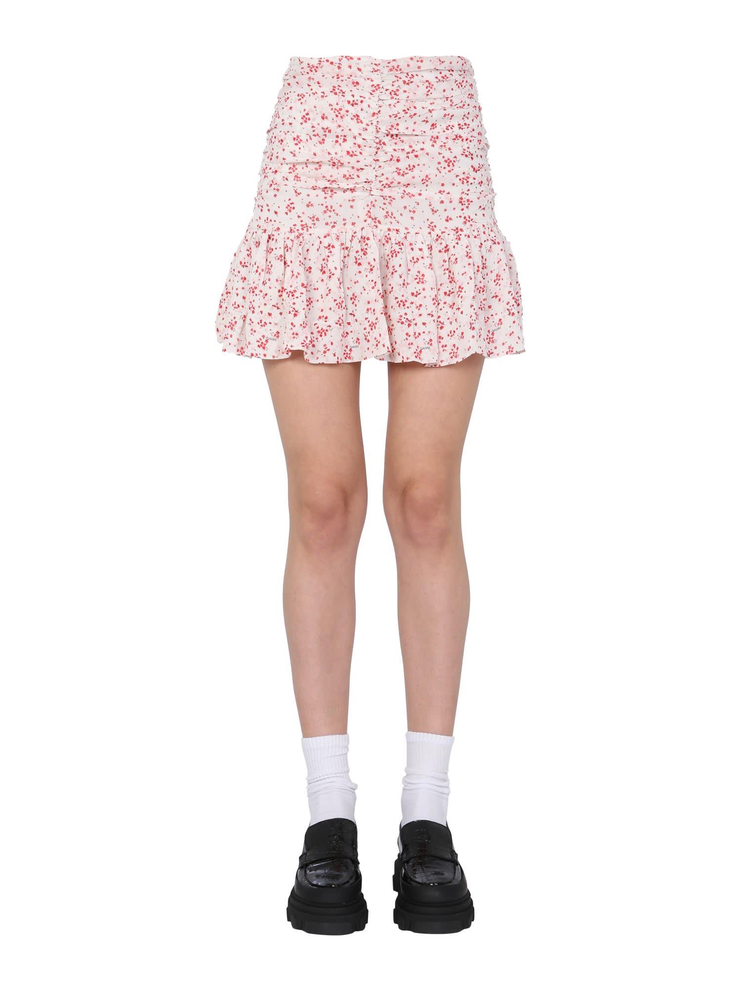 Ganni Mini skirts MINI SKIRT