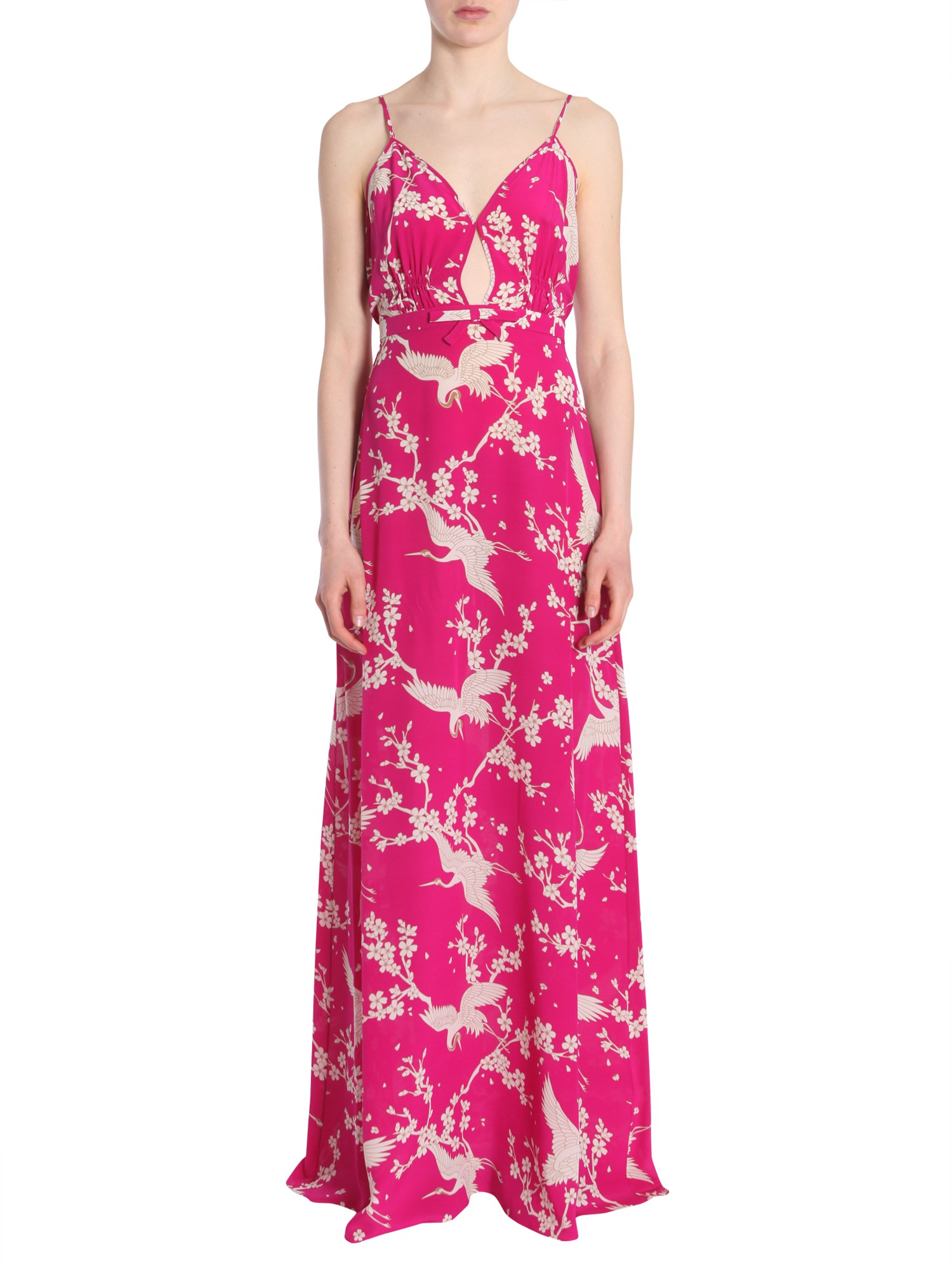 Buy N.21 Long Silk Dress online, shop N.21 with free shipping