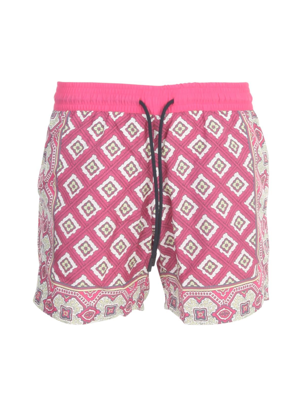 Etro Shorts MAIOLICA FANTASY SWIM SHORTS
