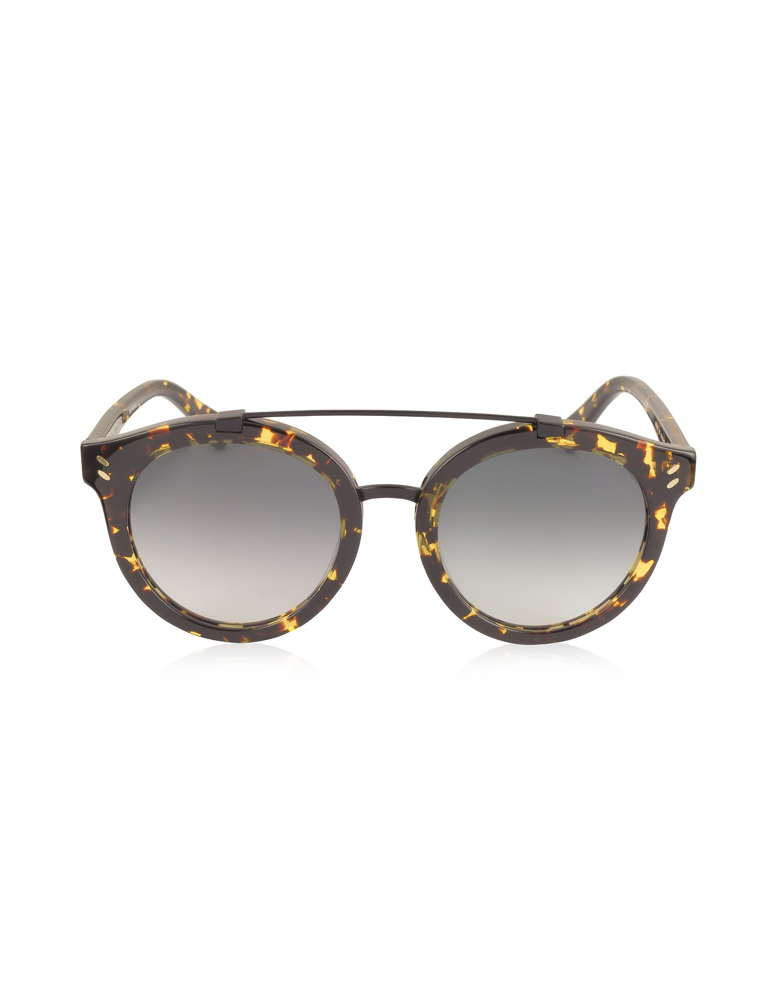 Stella Mccartney Sc0054s Round Aviator Acetate Womens Sunglasses