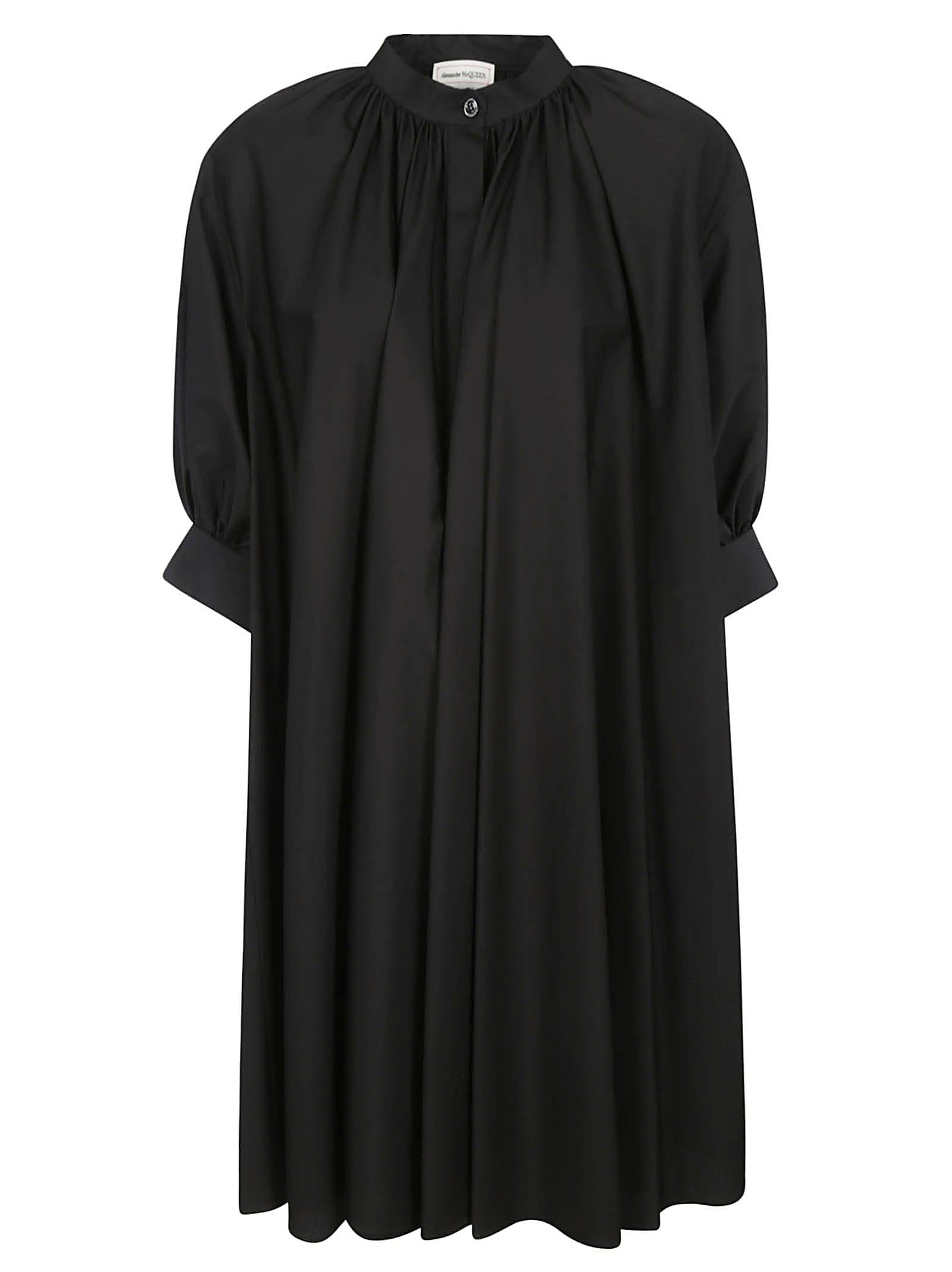 Buy Alexander McQueen Trap Cuff Mini Dress online, shop Alexander McQueen with free shipping