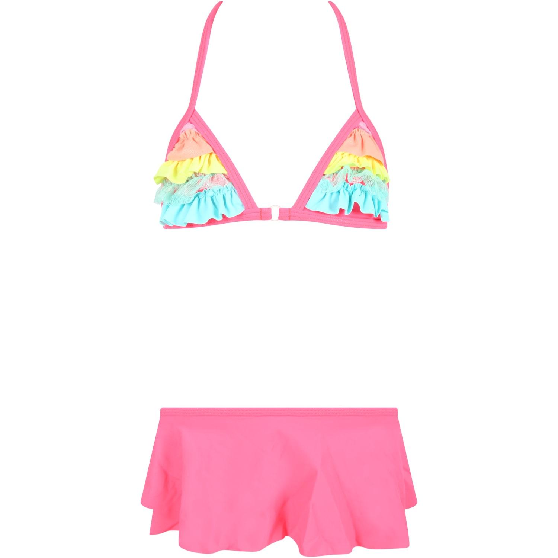Neon Fuchsia Bikini For Girl