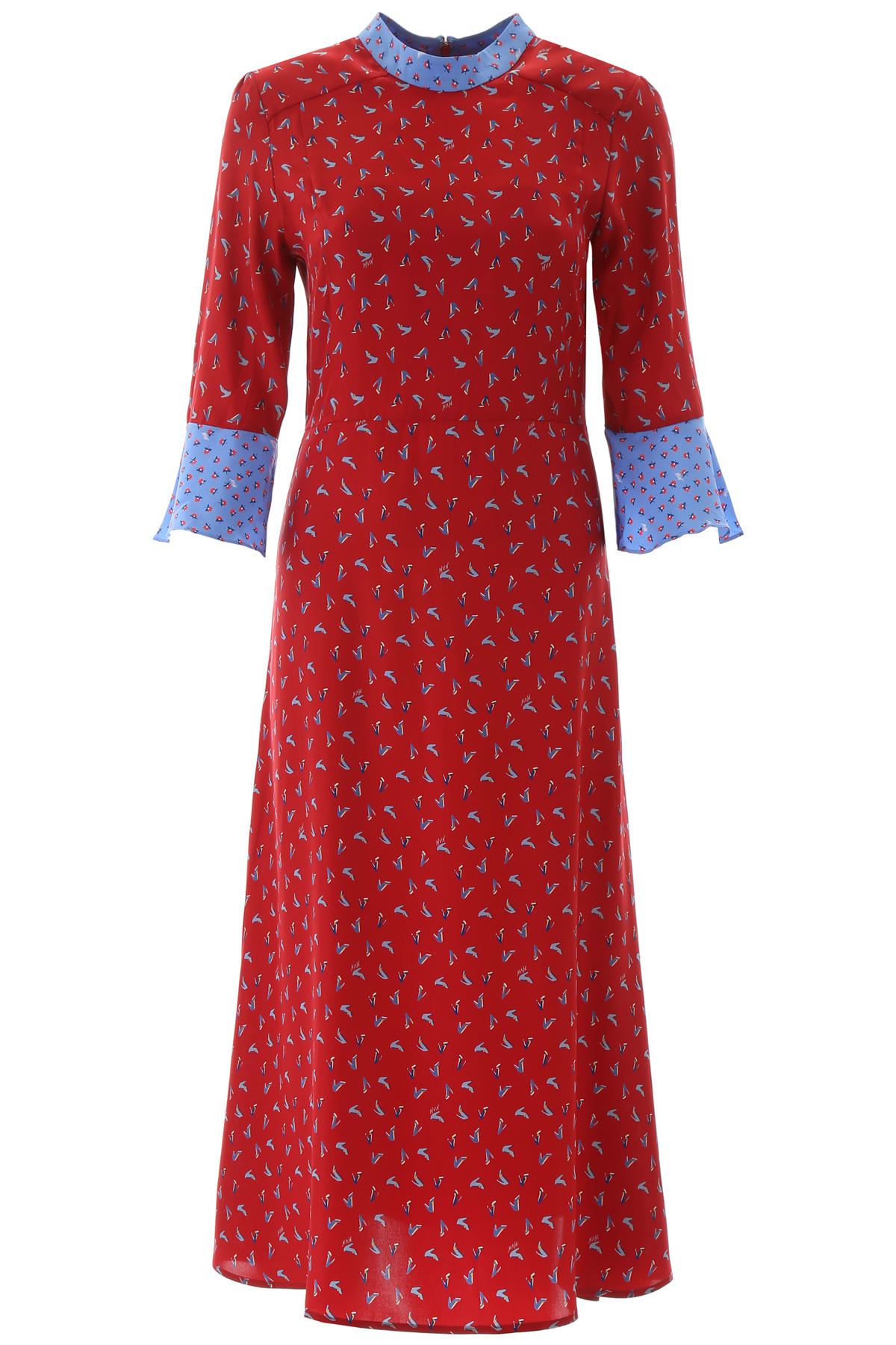 Buy HVN Printed Ashley Dress online, shop HVN with free shipping