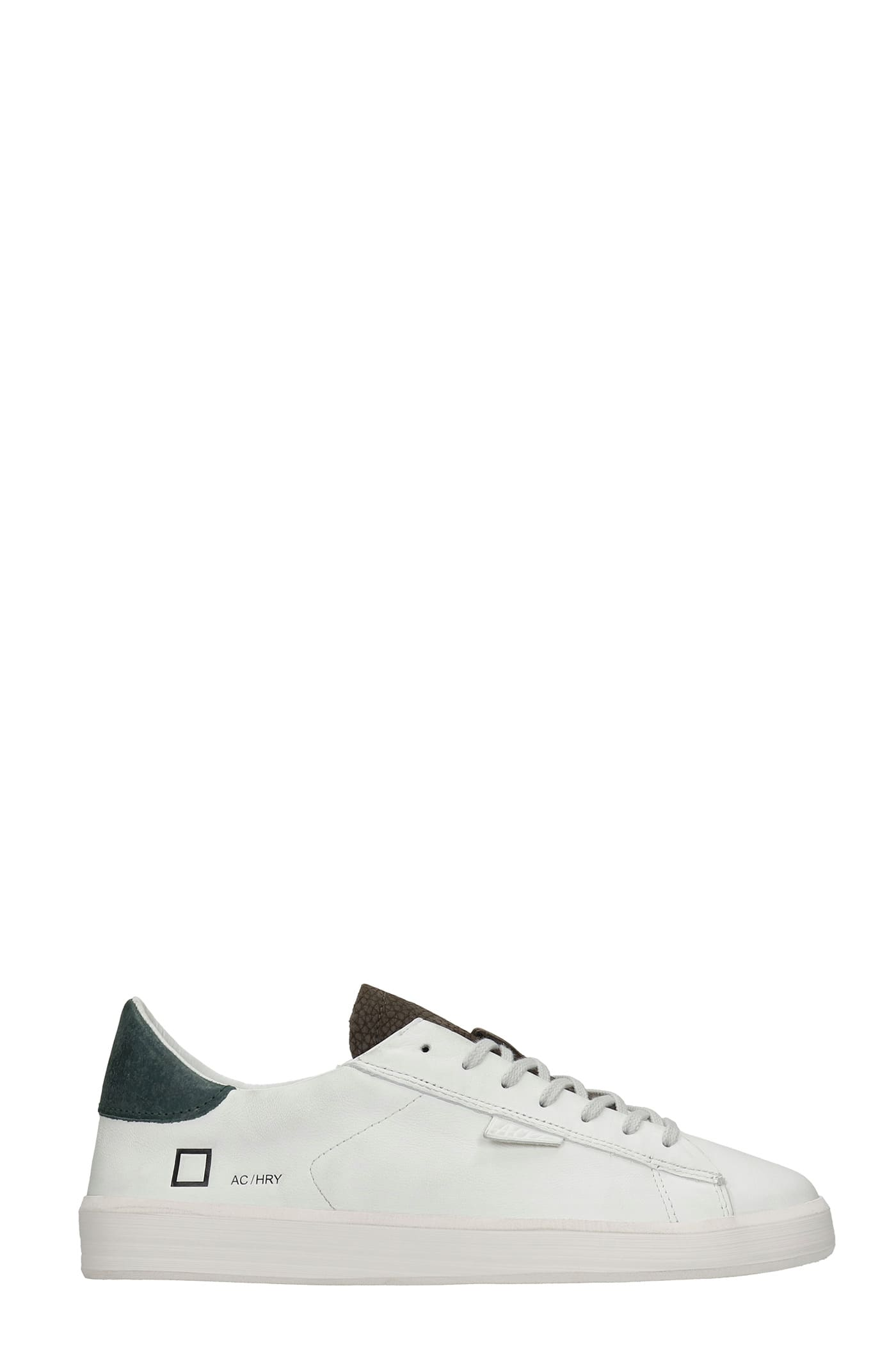 Ace Horsy Sneakers In White Leather
