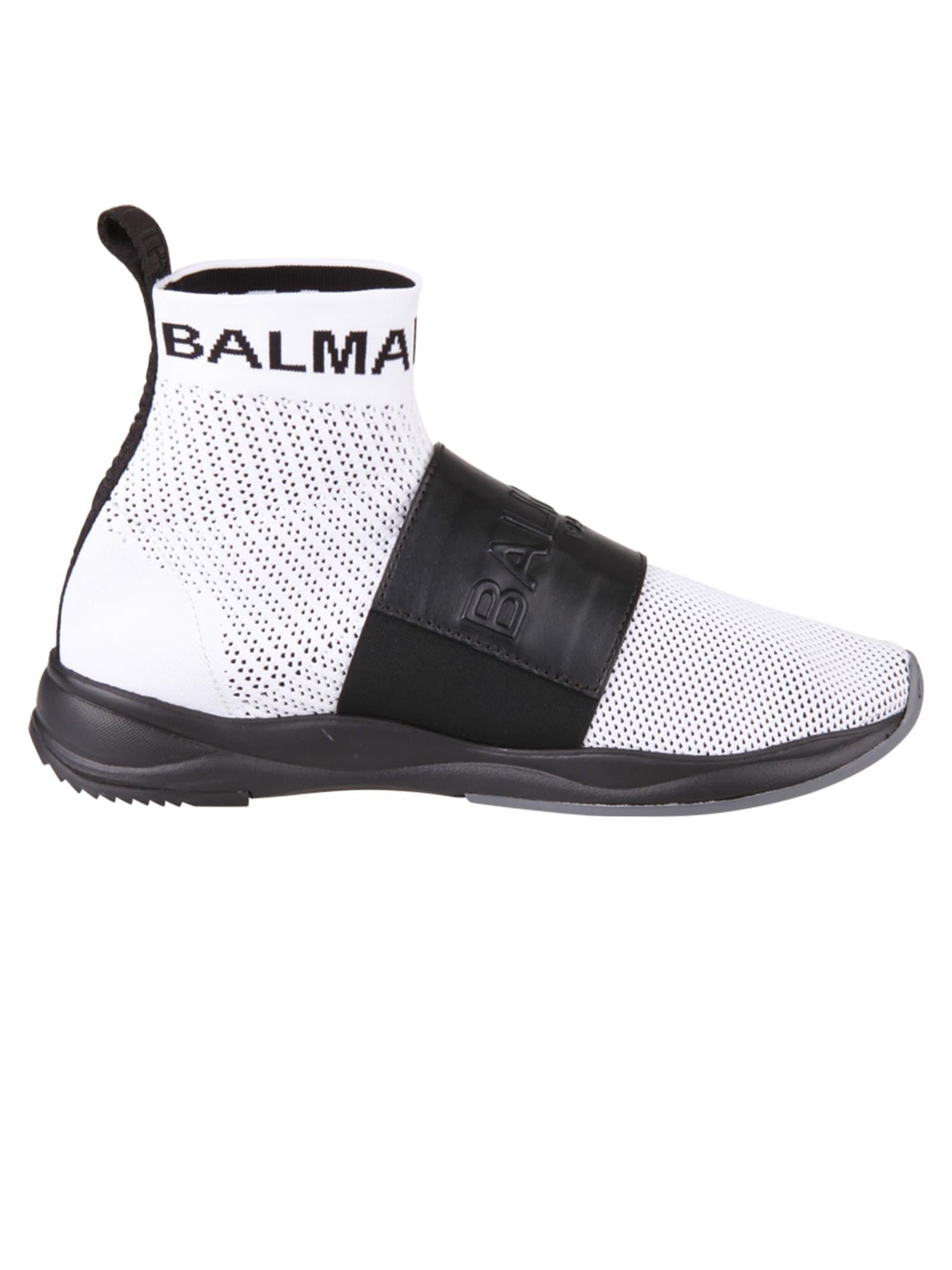 Balmain Balmain Paris Sneakers White 10796747 Italist