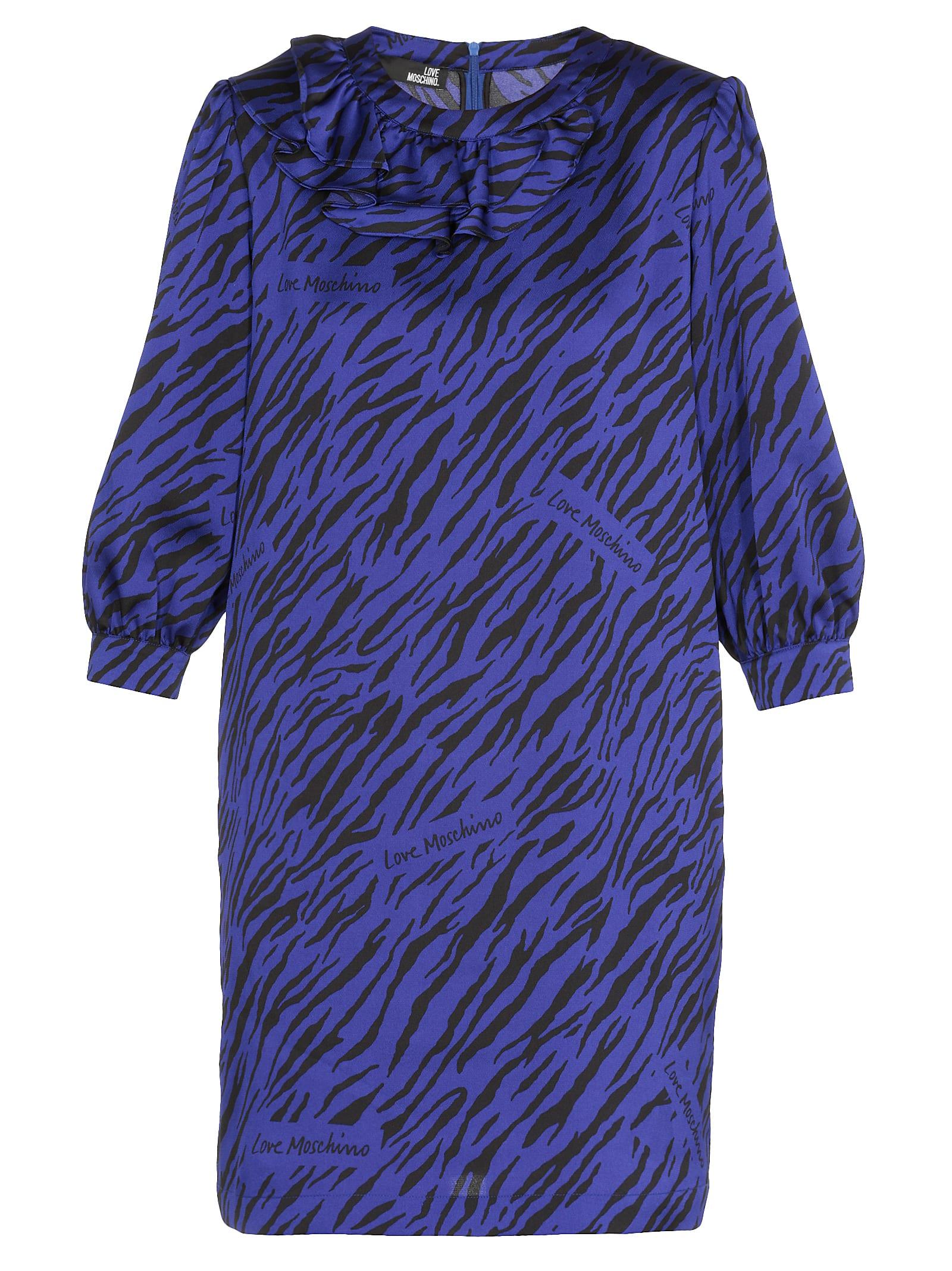 Love Moschino Volant Dress