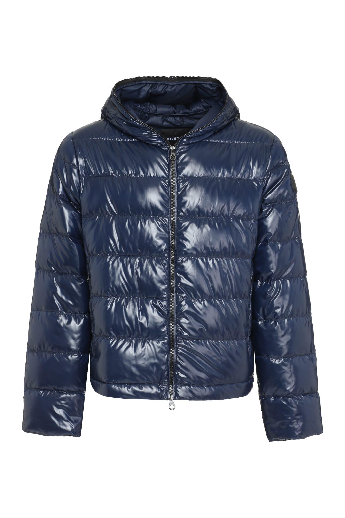 Tolodi Hooded Full-zip Down Jacket