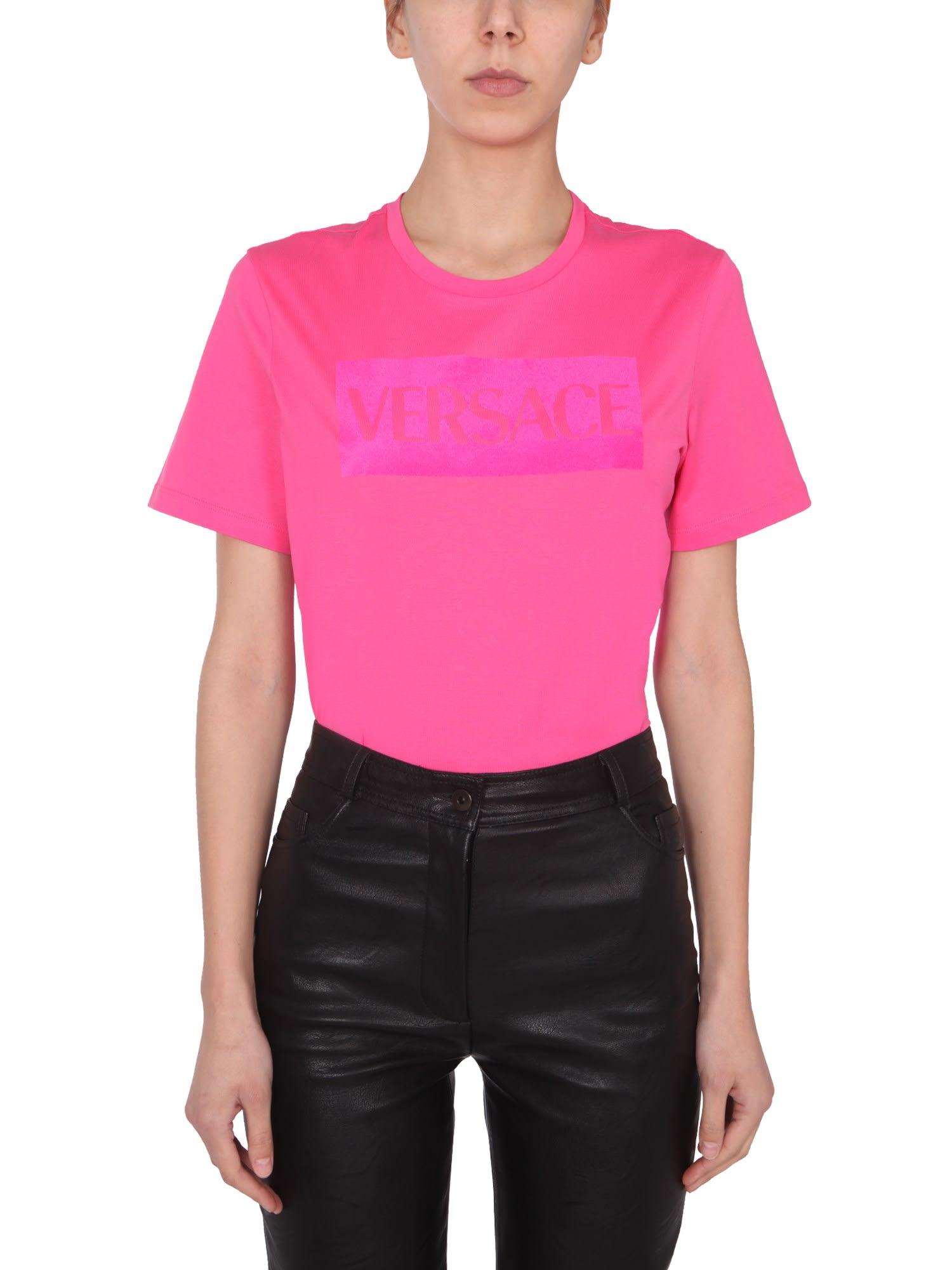 Versace T-shirts T-SHIRT WITH LOGO