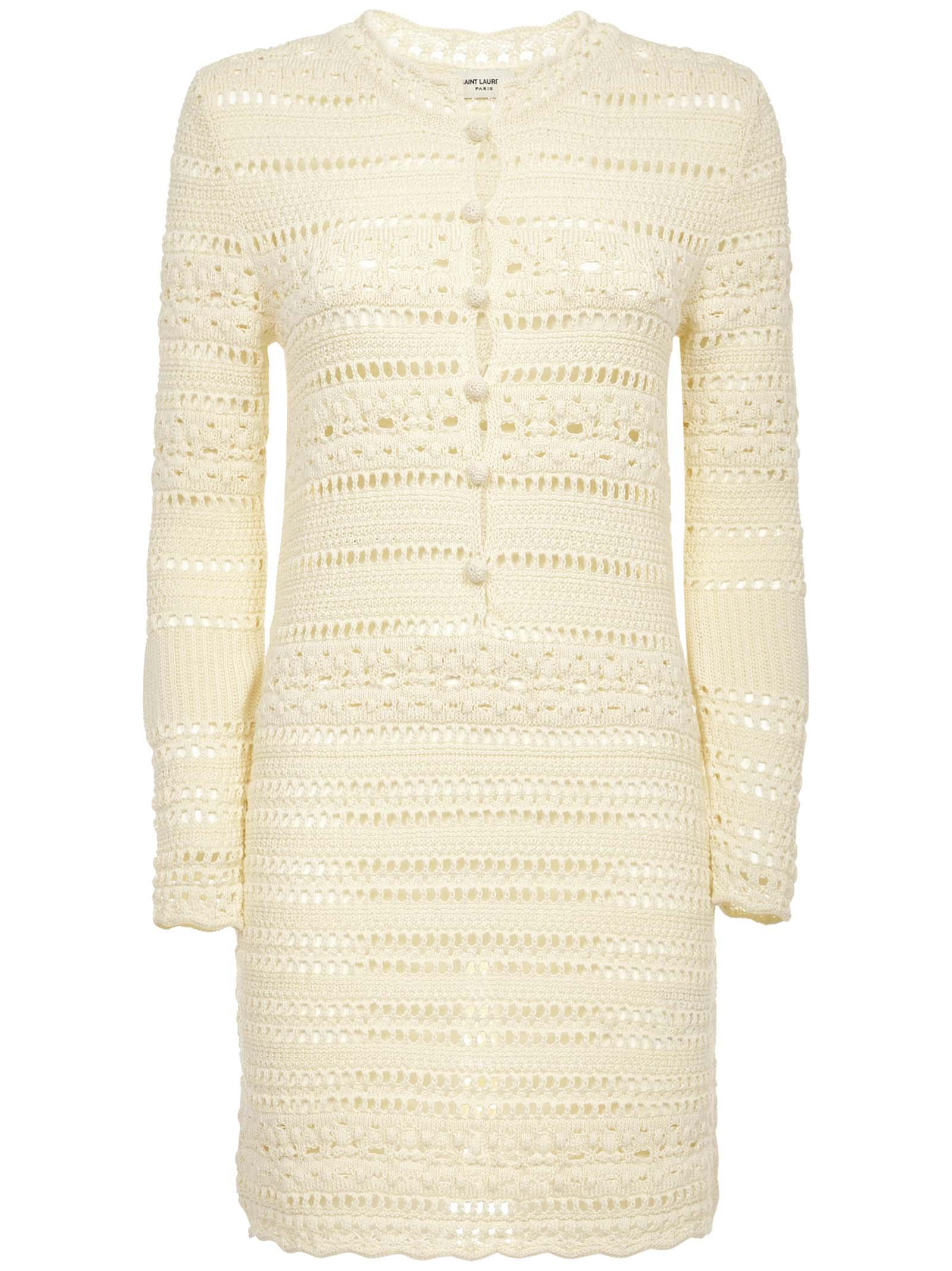 Buy Jane Dress online, shop Saint Laurent with free shipping