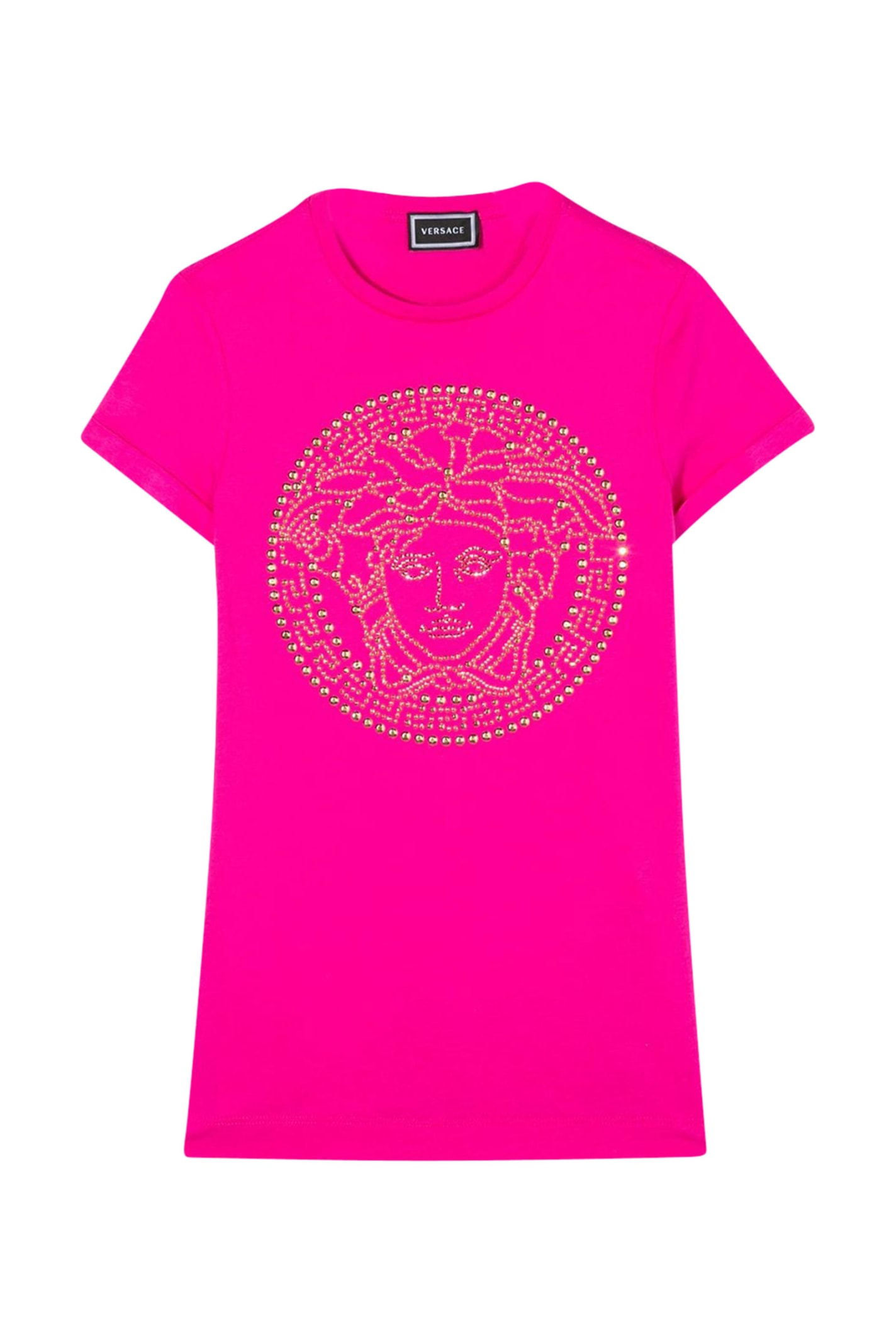 Buy Dress T-shirt Model With Studs online, shop Young Versace with free shipping