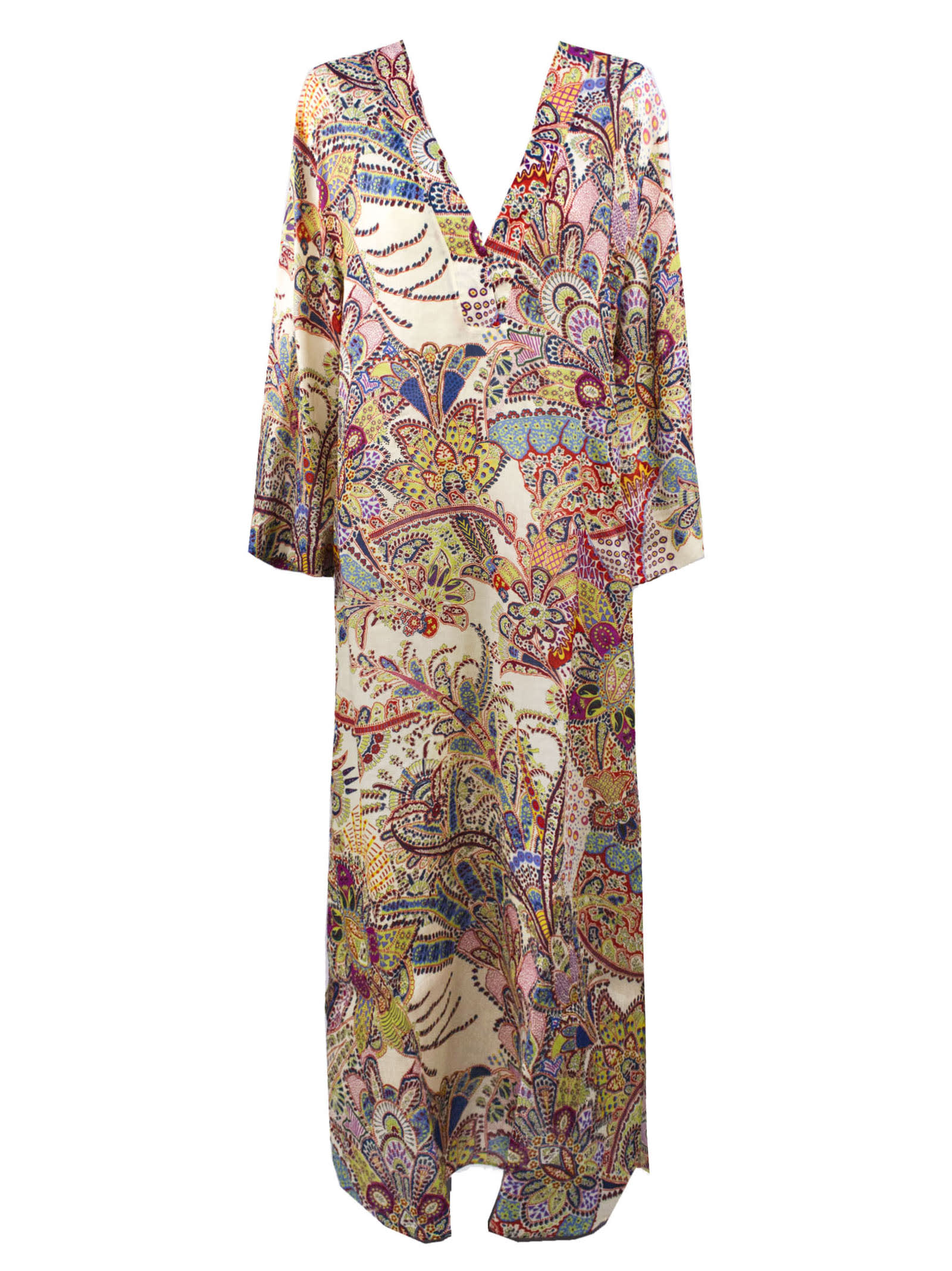 Buy Etro Long Ramie Dress online, shop Etro with free shipping