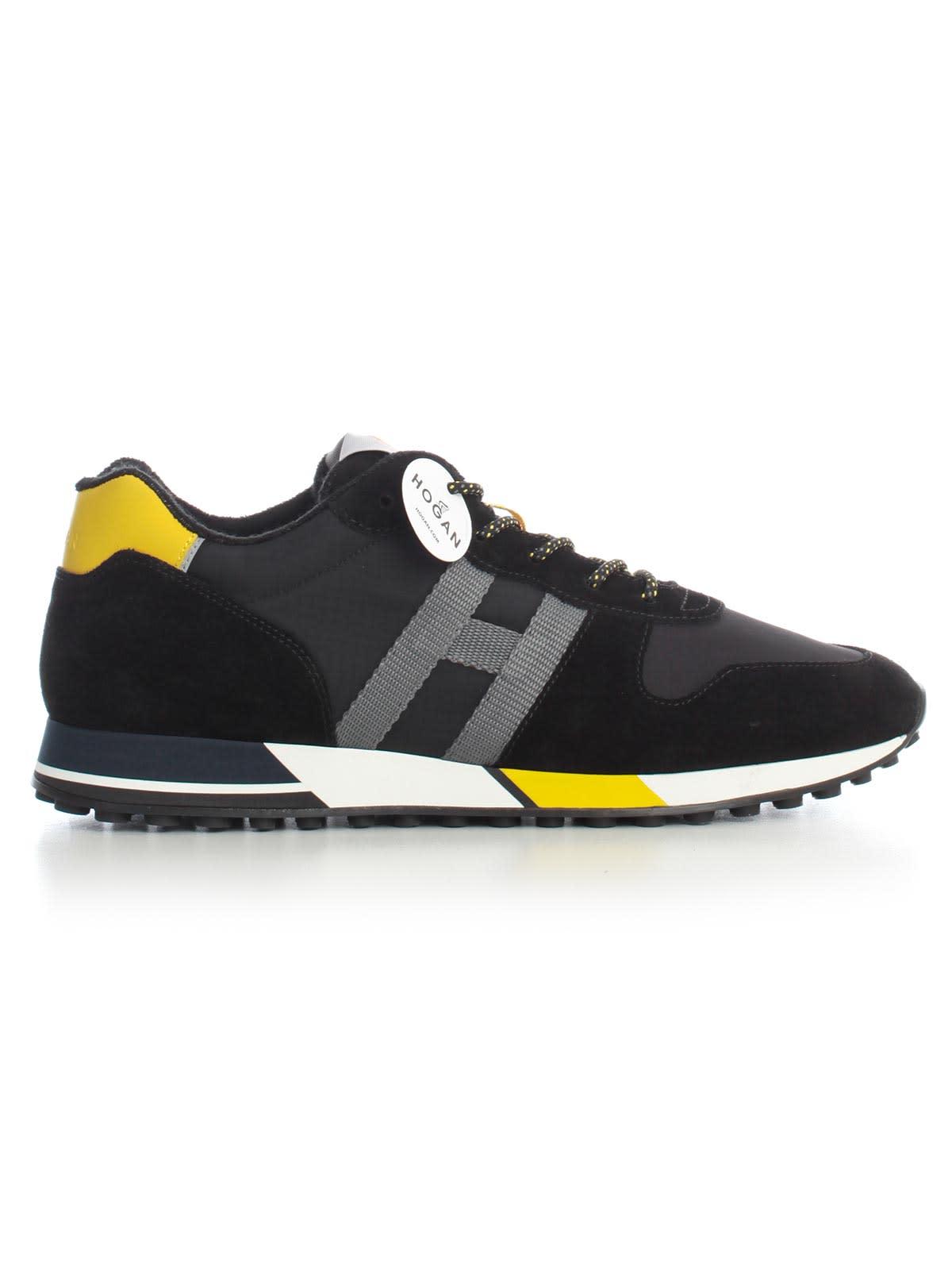 Hogan H383 Retro Running Sneakers H Logo