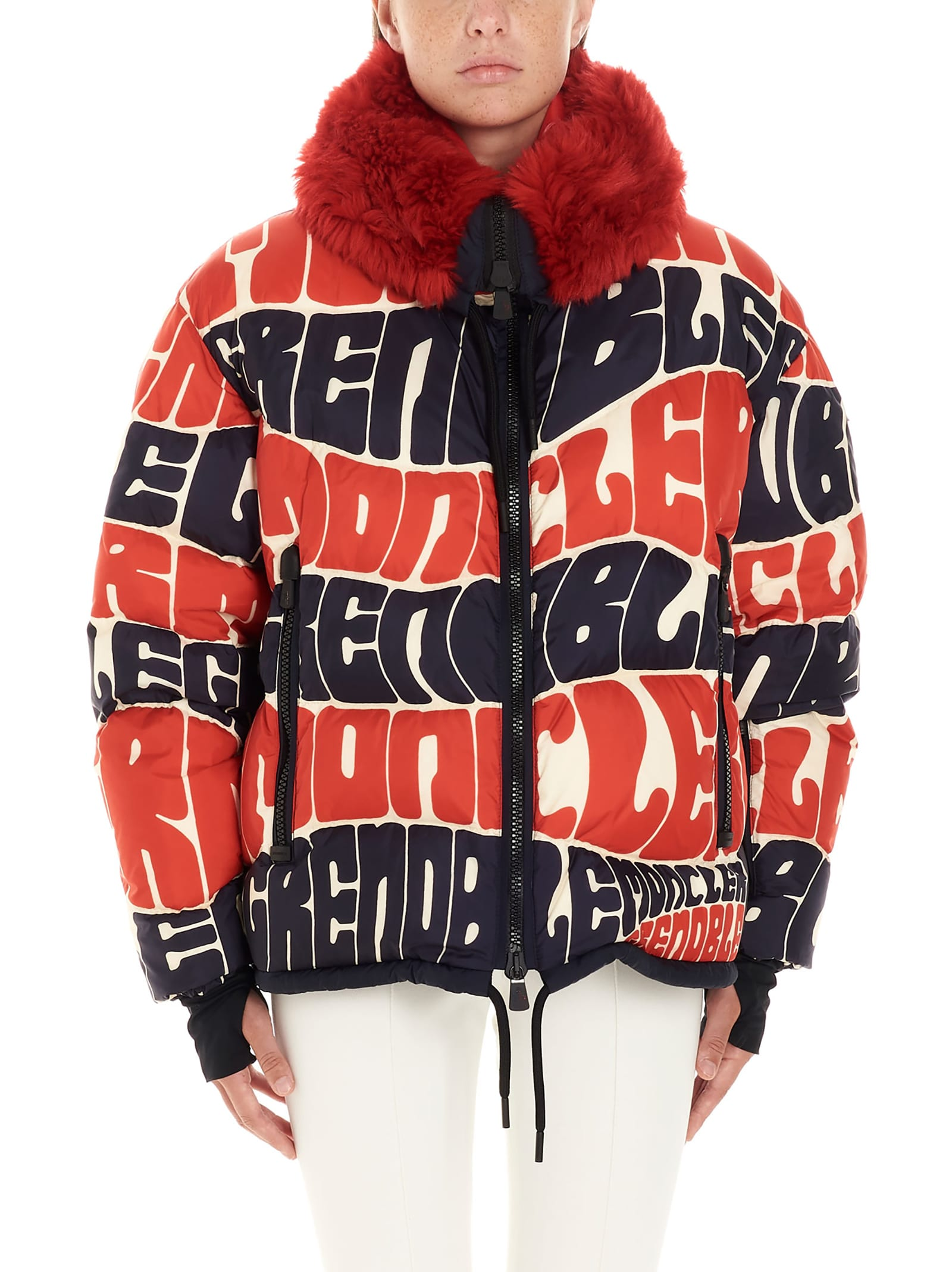 Moncler Grenoble plaret Jacket
