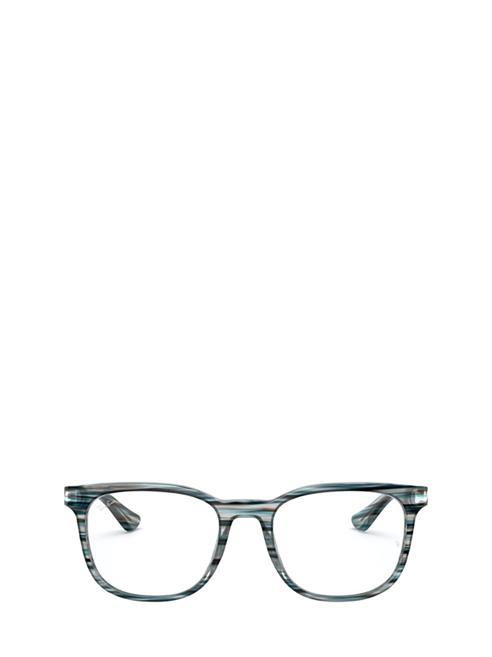 Ray-Ban Ray-ban Rx5369 Stripped Blue / Grey Glasses