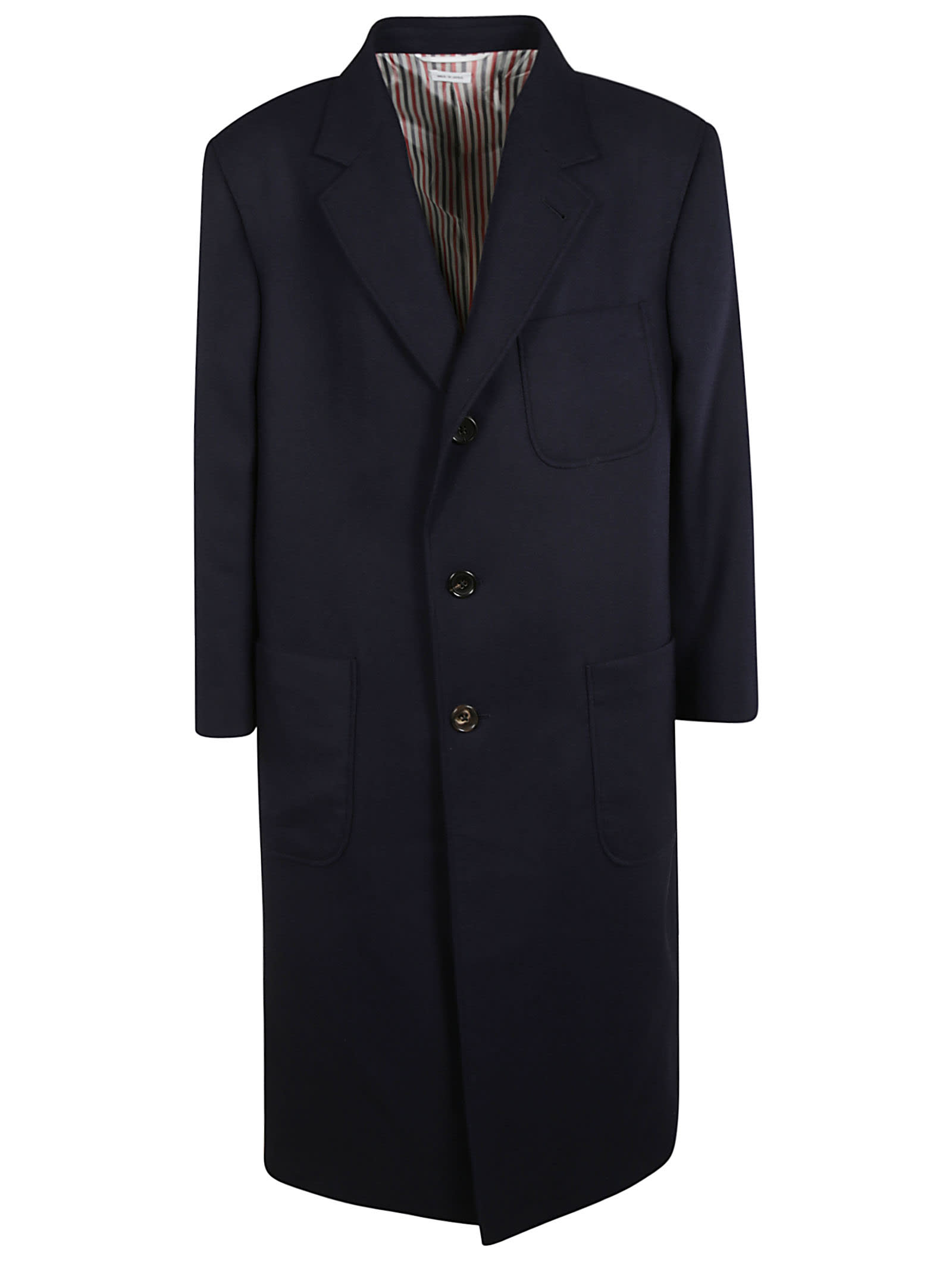 Thom Browne Oversized Patch Pocket Coat