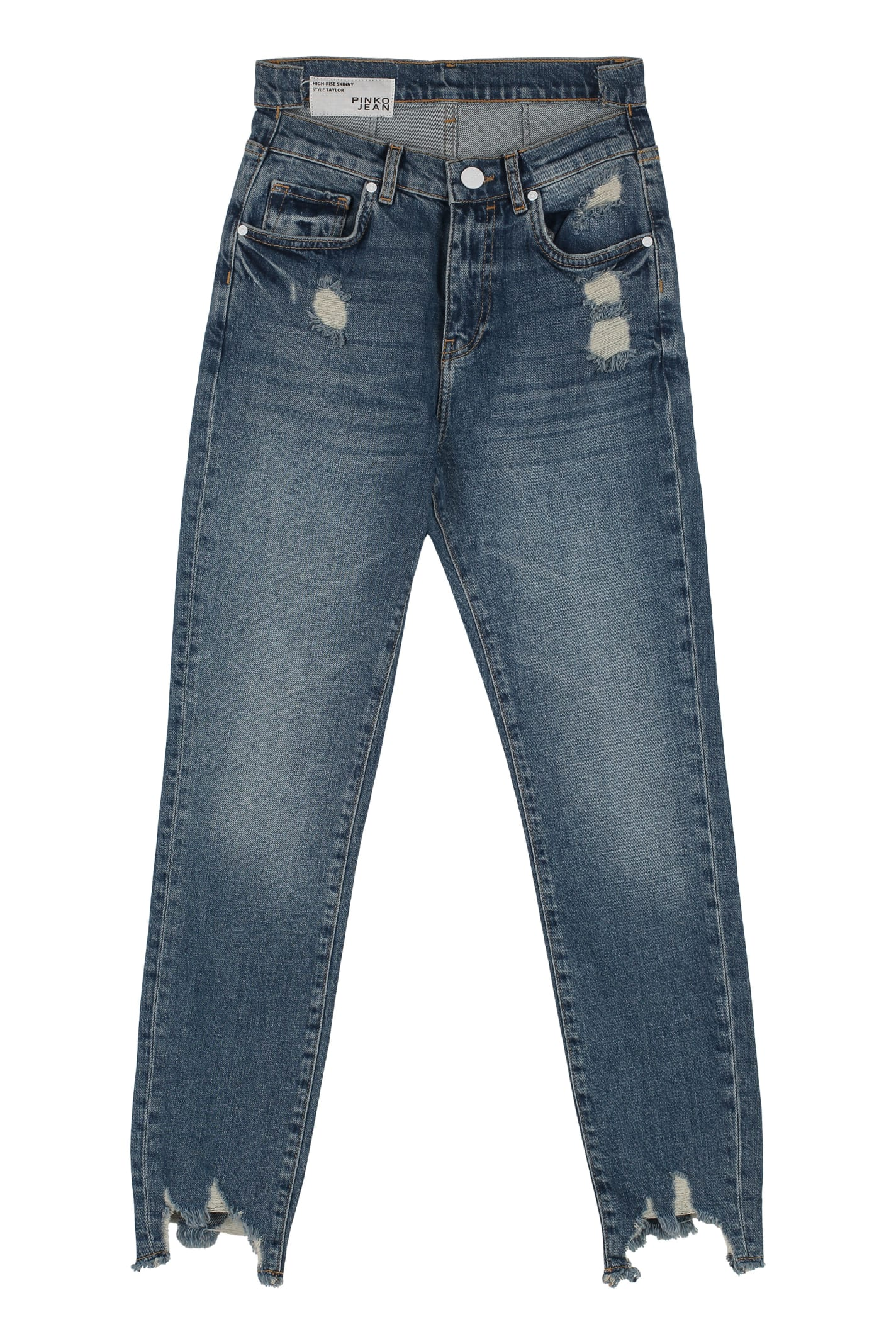 premium selection b8d01 cf243 Best price on the market at italist | Pinko Pinko Taylor Destroyed Skinny  Jeans