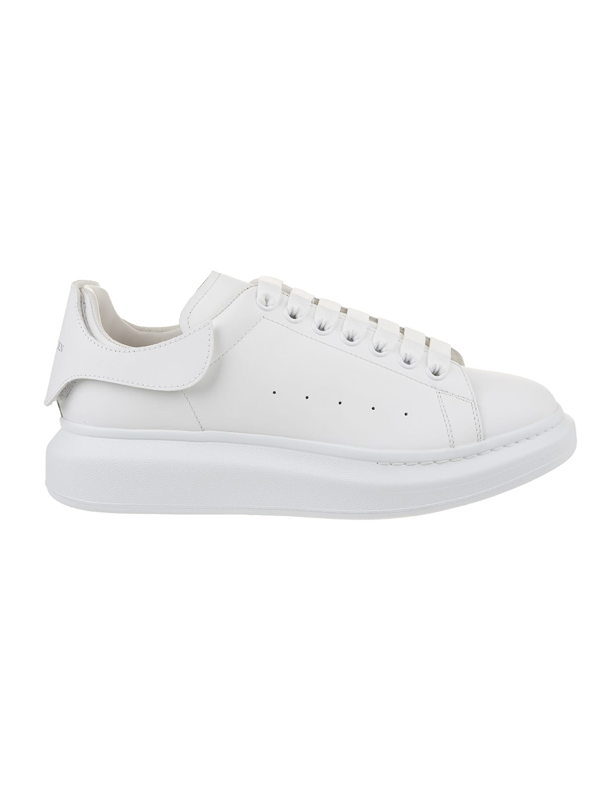 Man White Oversize Sneakers With Interchangeable Inserts