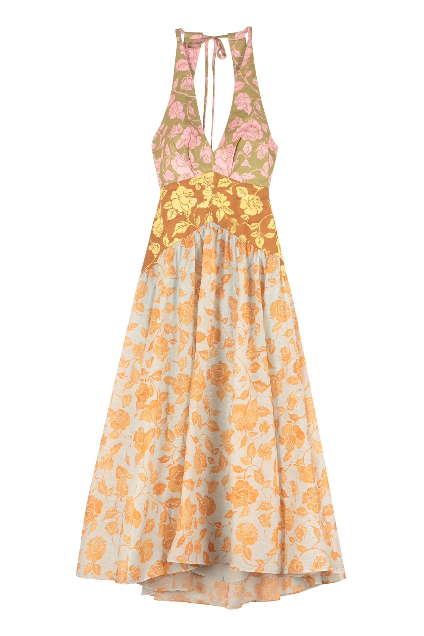 Zimmermann The Lovestruck Printed Linen Dress