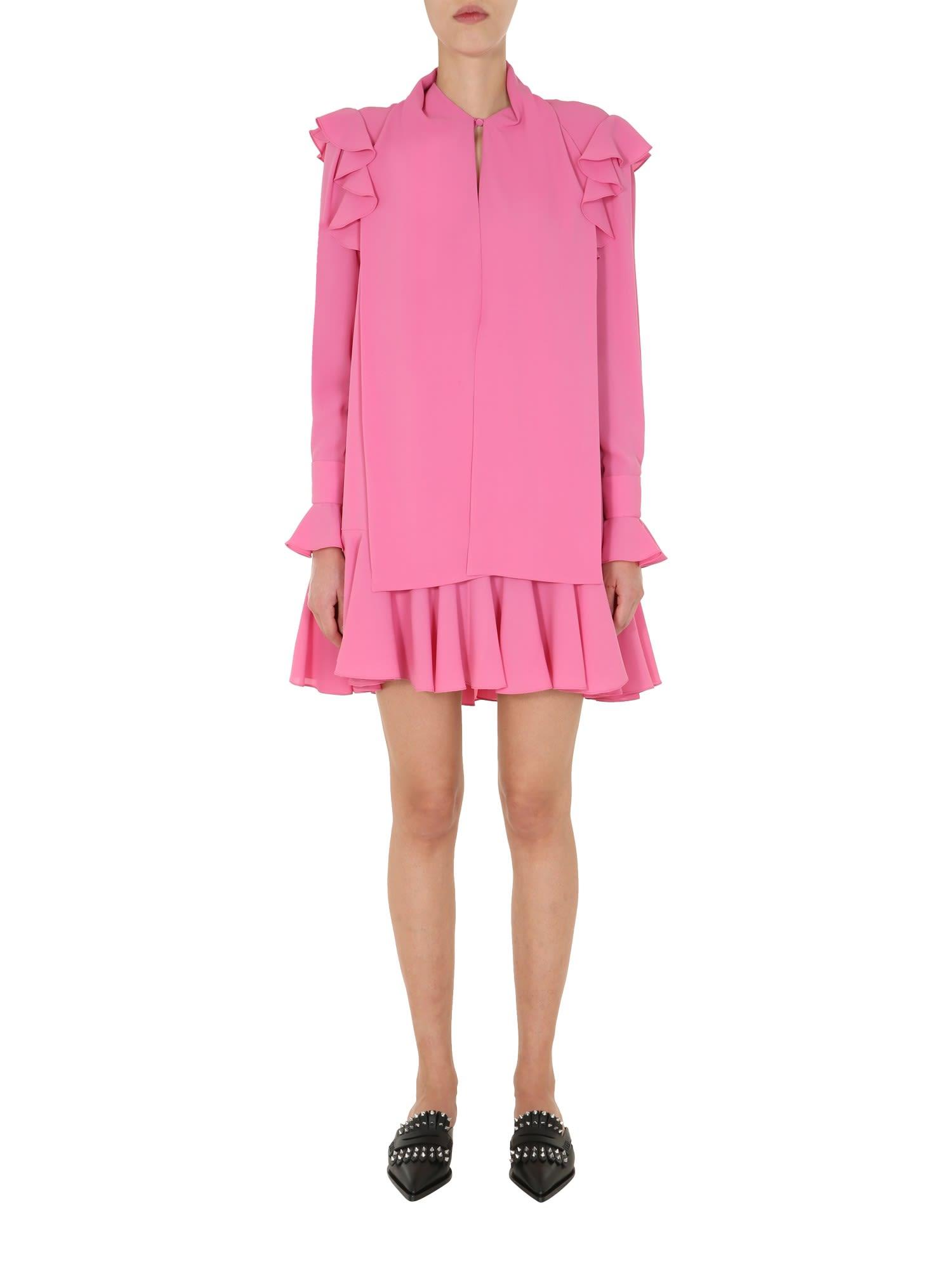 Alexander McQueen Dress With Ruches
