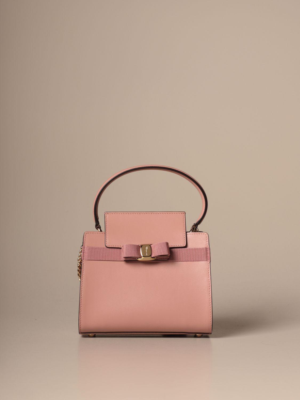 Salvatore Ferragamo Mini Bag Vara Salvatore Ferragamo Leather Handbag