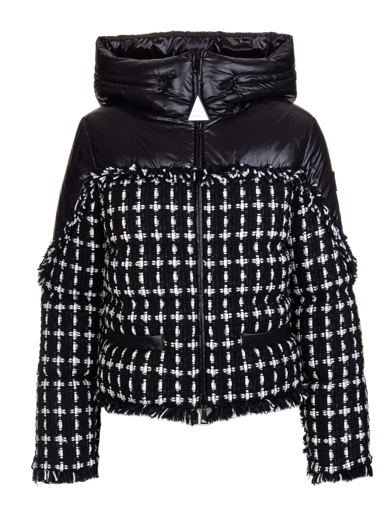 Moncler Black Ginavelle Jacket Woman