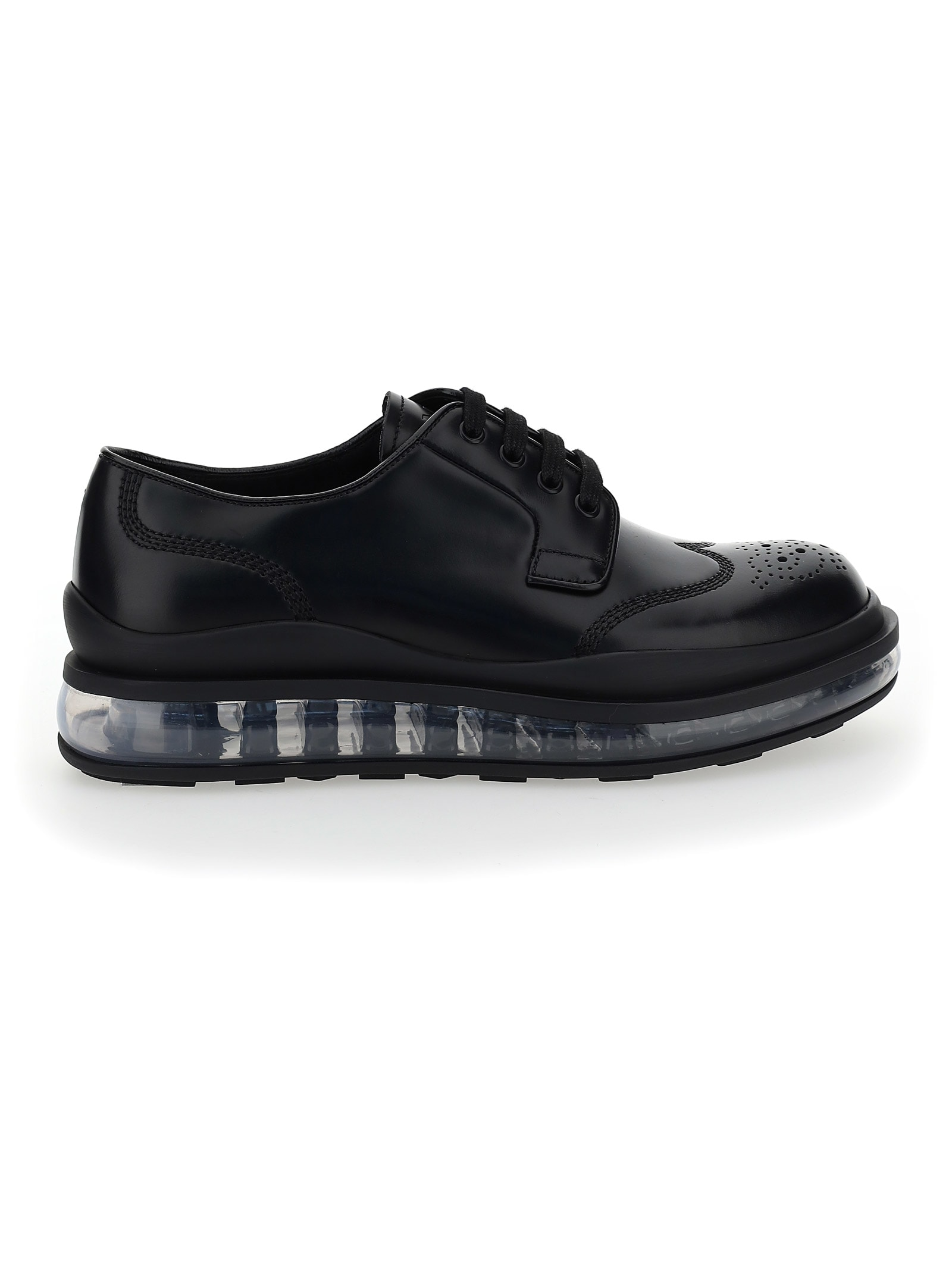 Prada Leathers LACE UP SHOES