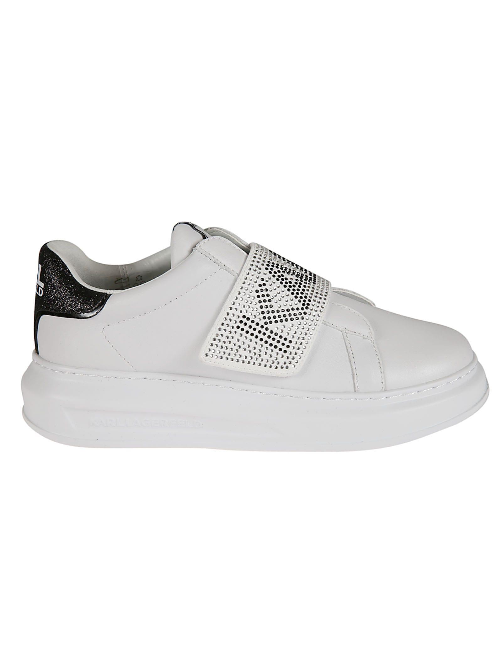 Karl Lagerfeld Glitz Logo Sneakers
